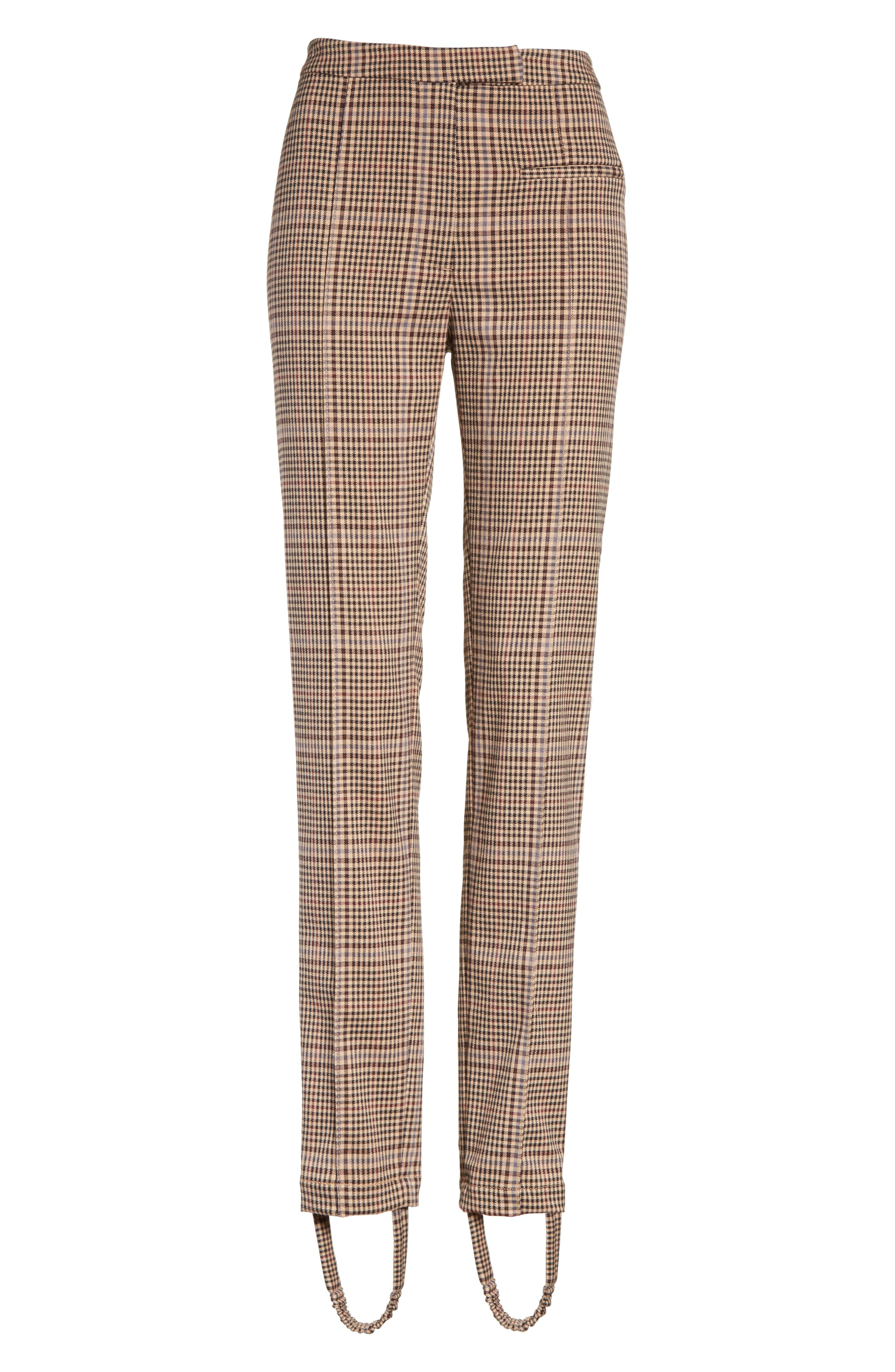 Alternate Image 6  - Tracy Reese Plaid Stirrup Pants