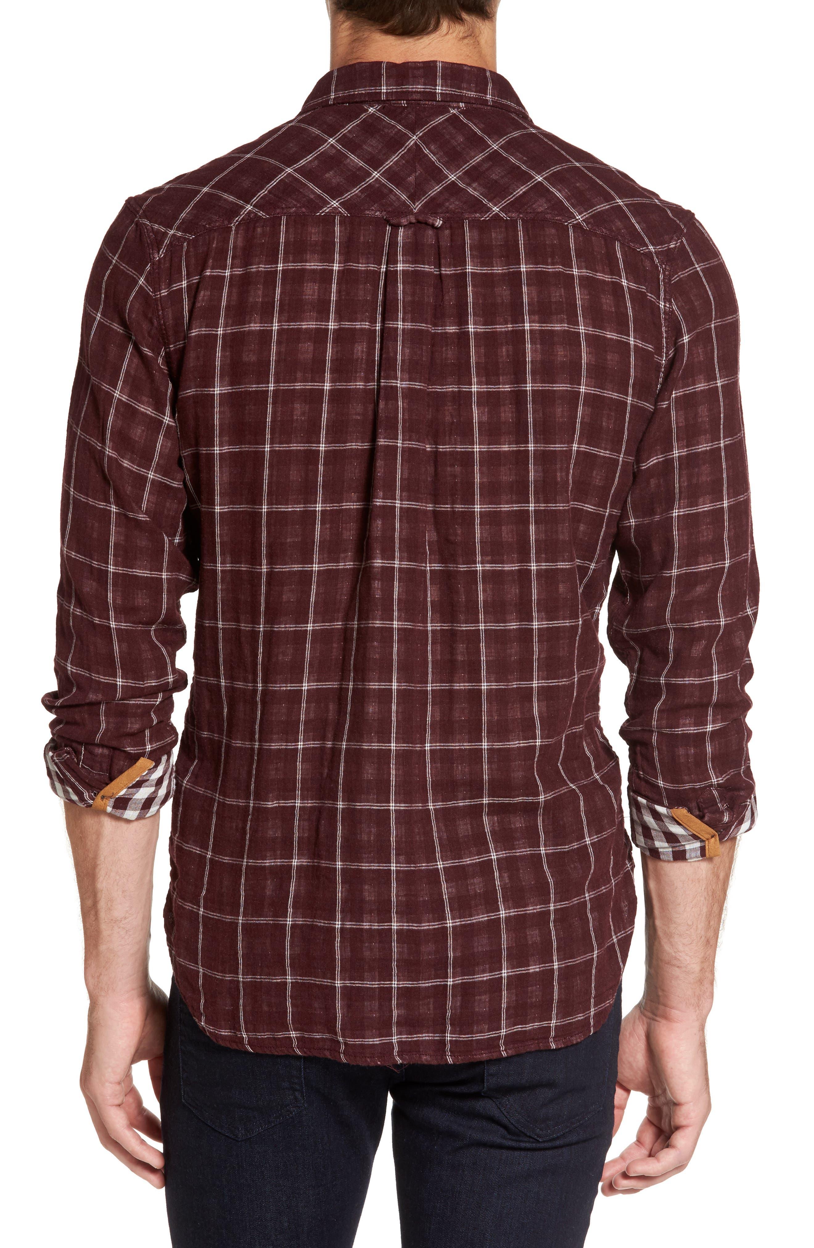 Alternate Image 2  - Nifty Genius Truman Plaid Sport Shirt