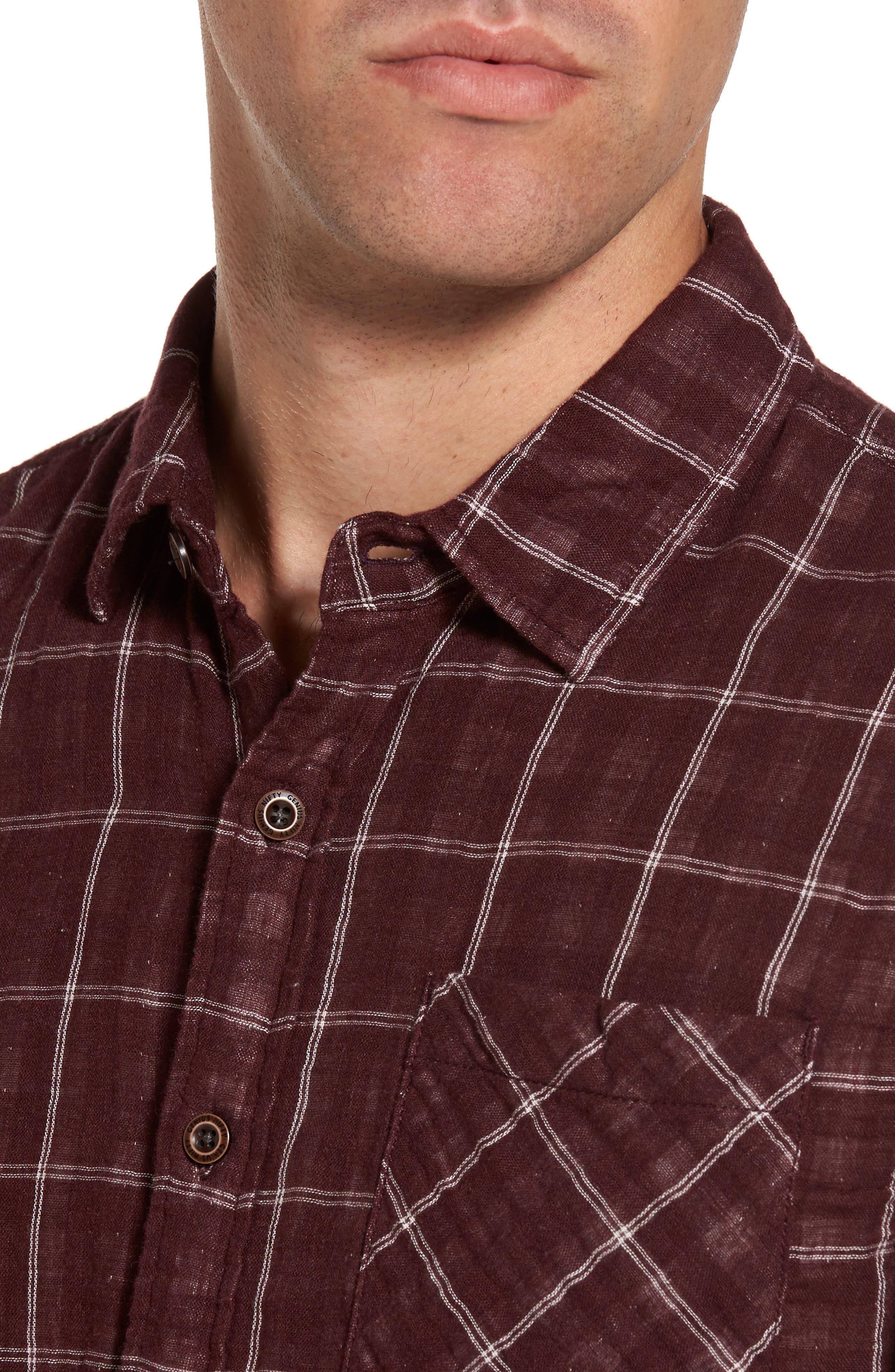 Alternate Image 4  - Nifty Genius Truman Plaid Sport Shirt