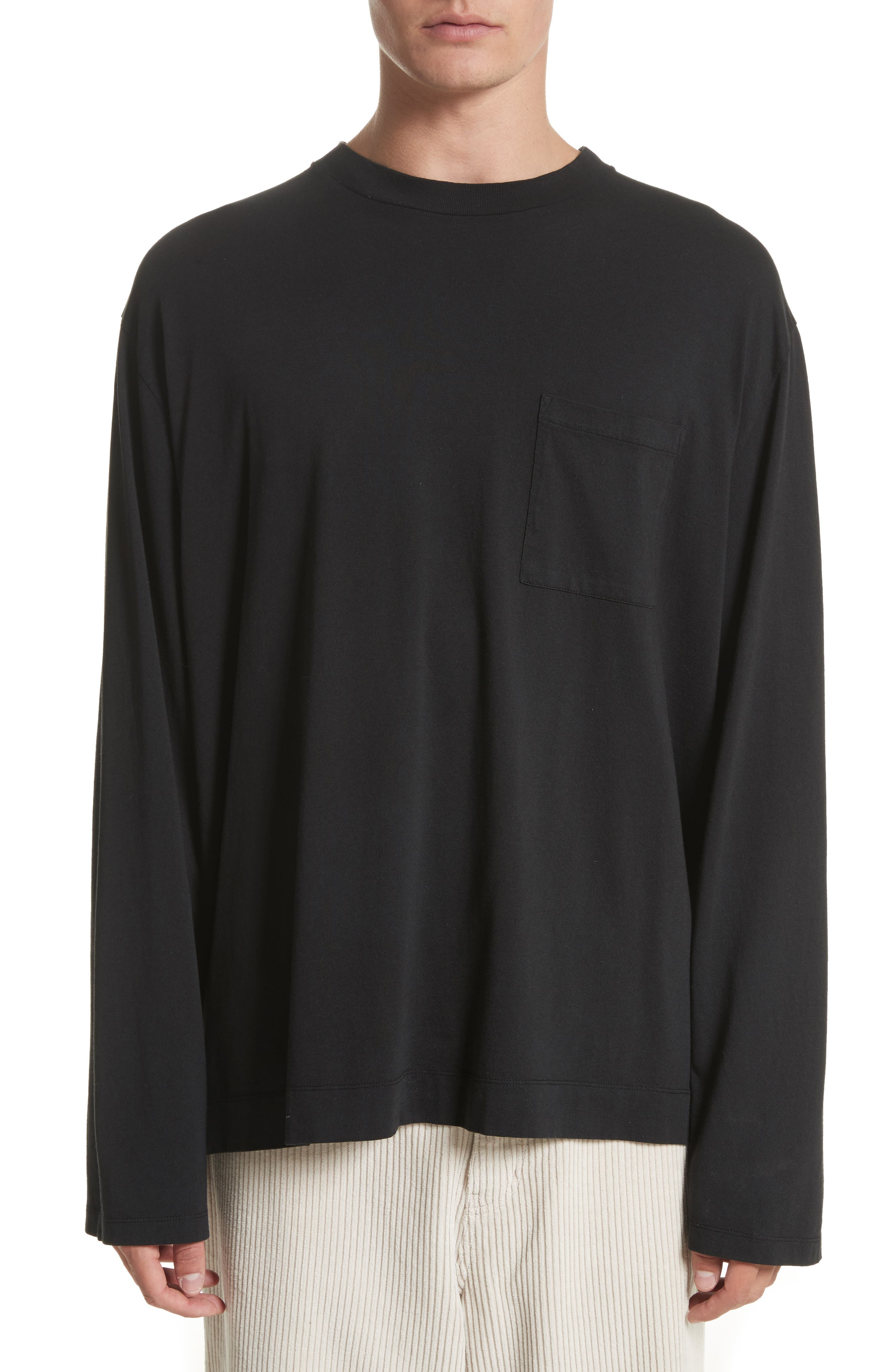 Alternate Image 1 Selected - OUR LEGACY Long Sleeve Pocket T-Shirt