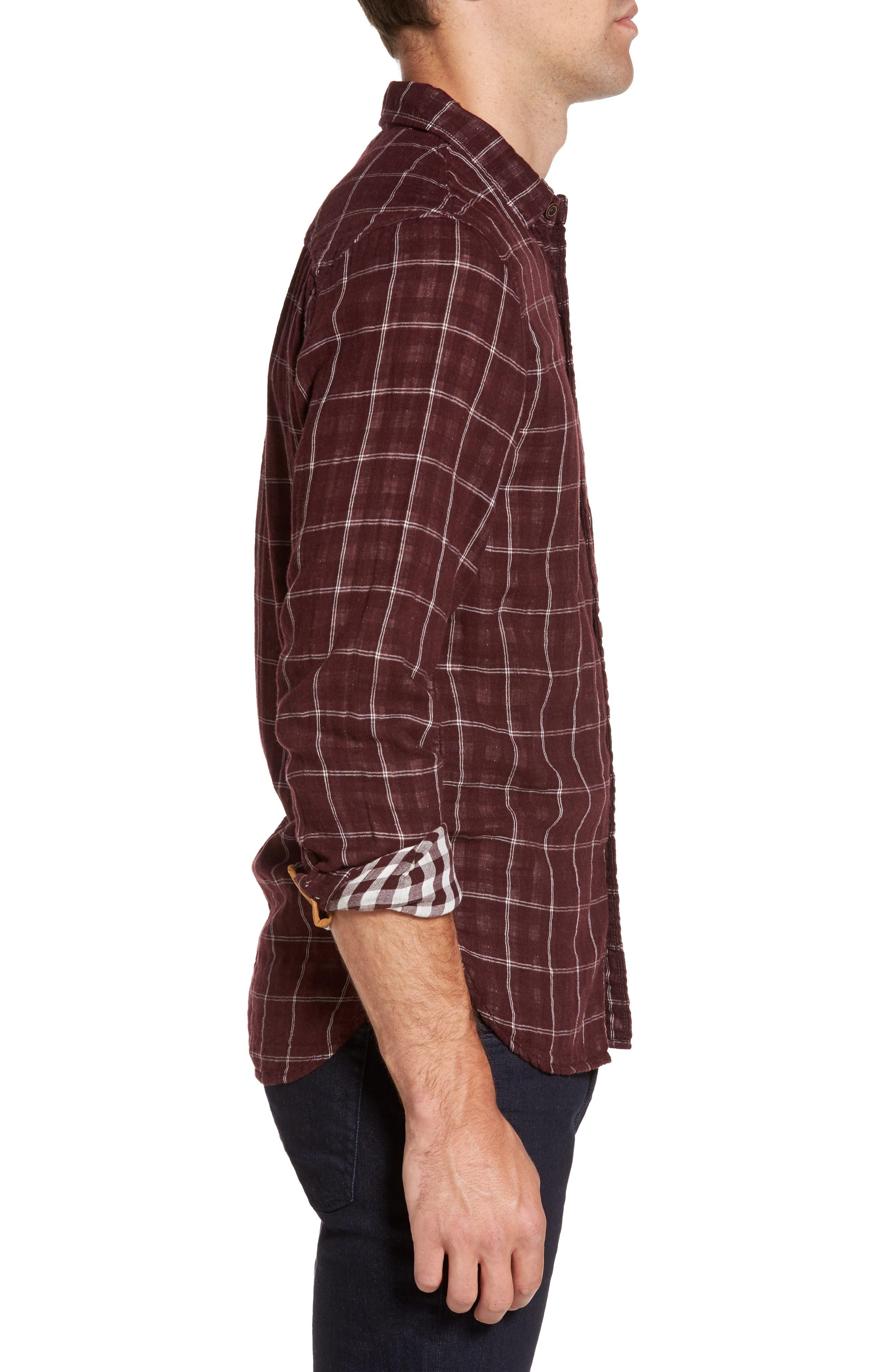 Alternate Image 3  - Nifty Genius Truman Plaid Sport Shirt