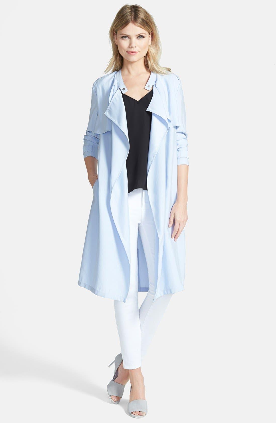 Main Image - Trouvé Soft Trench Coat