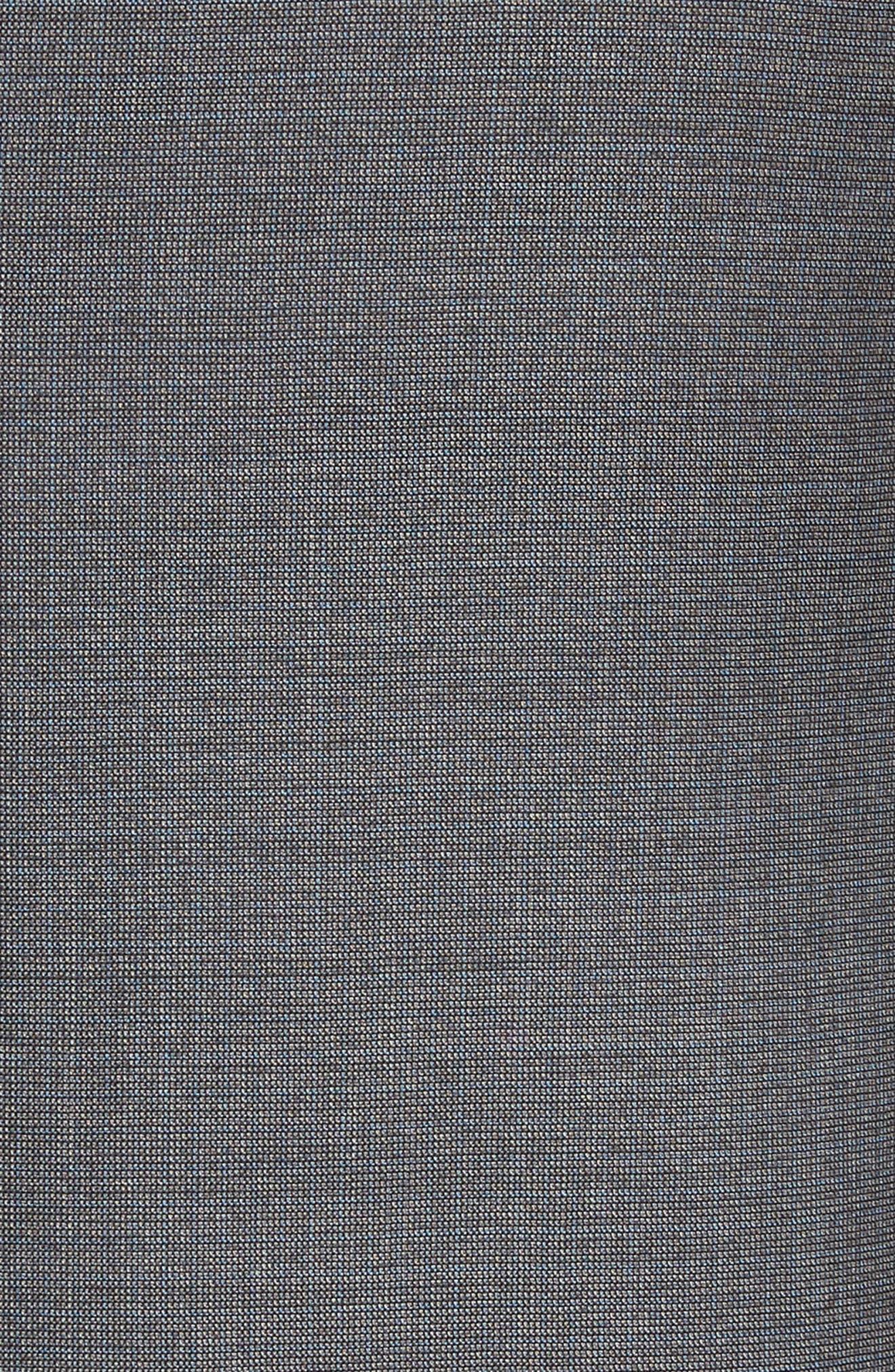 Alternate Image 7  - Armani Collezioni G-Line Trim Fit Solid Wool Suit