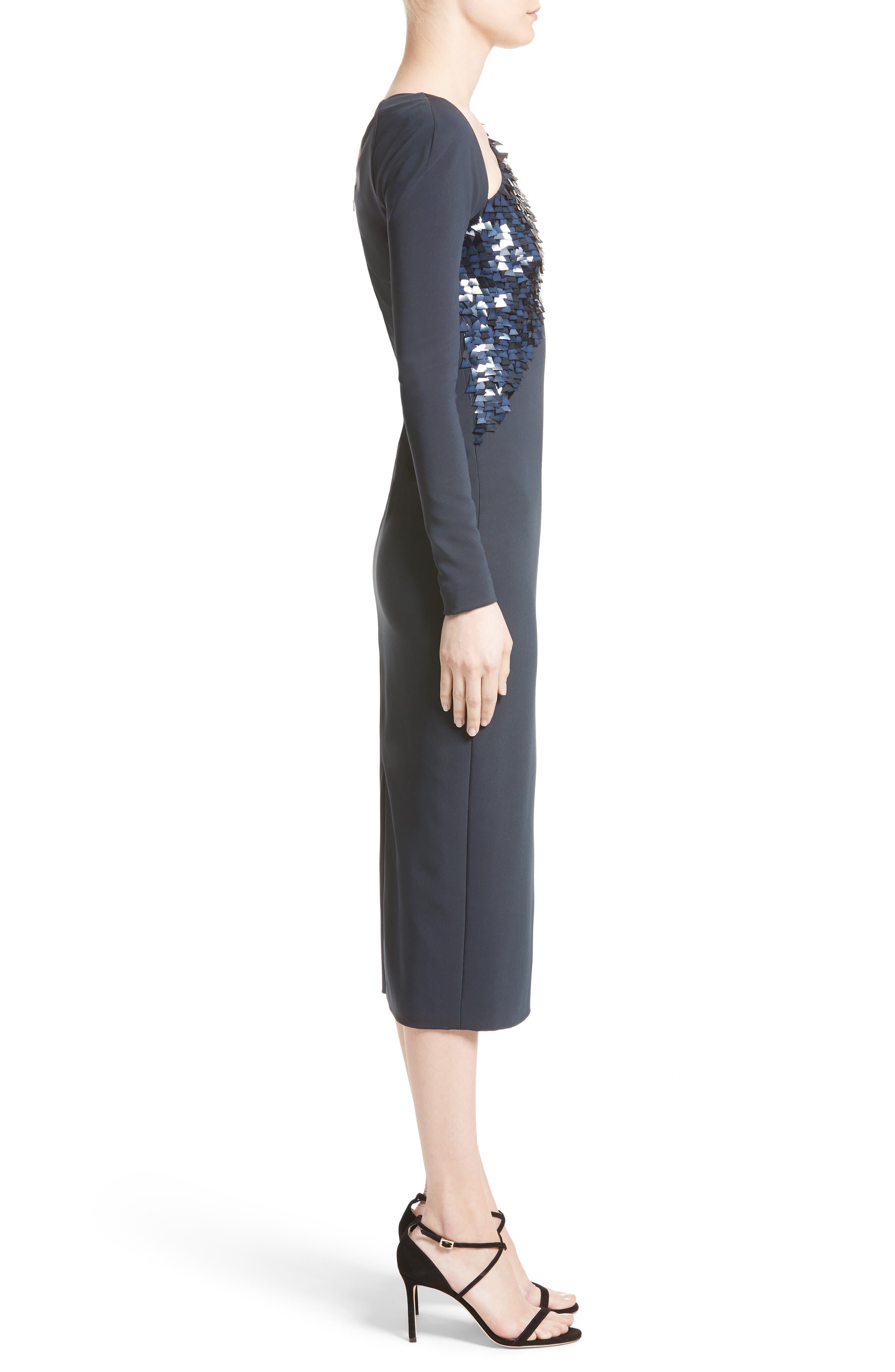 Alternate Image 3  - Cushnie et Ochs Larissa Sequin Pencil Dress