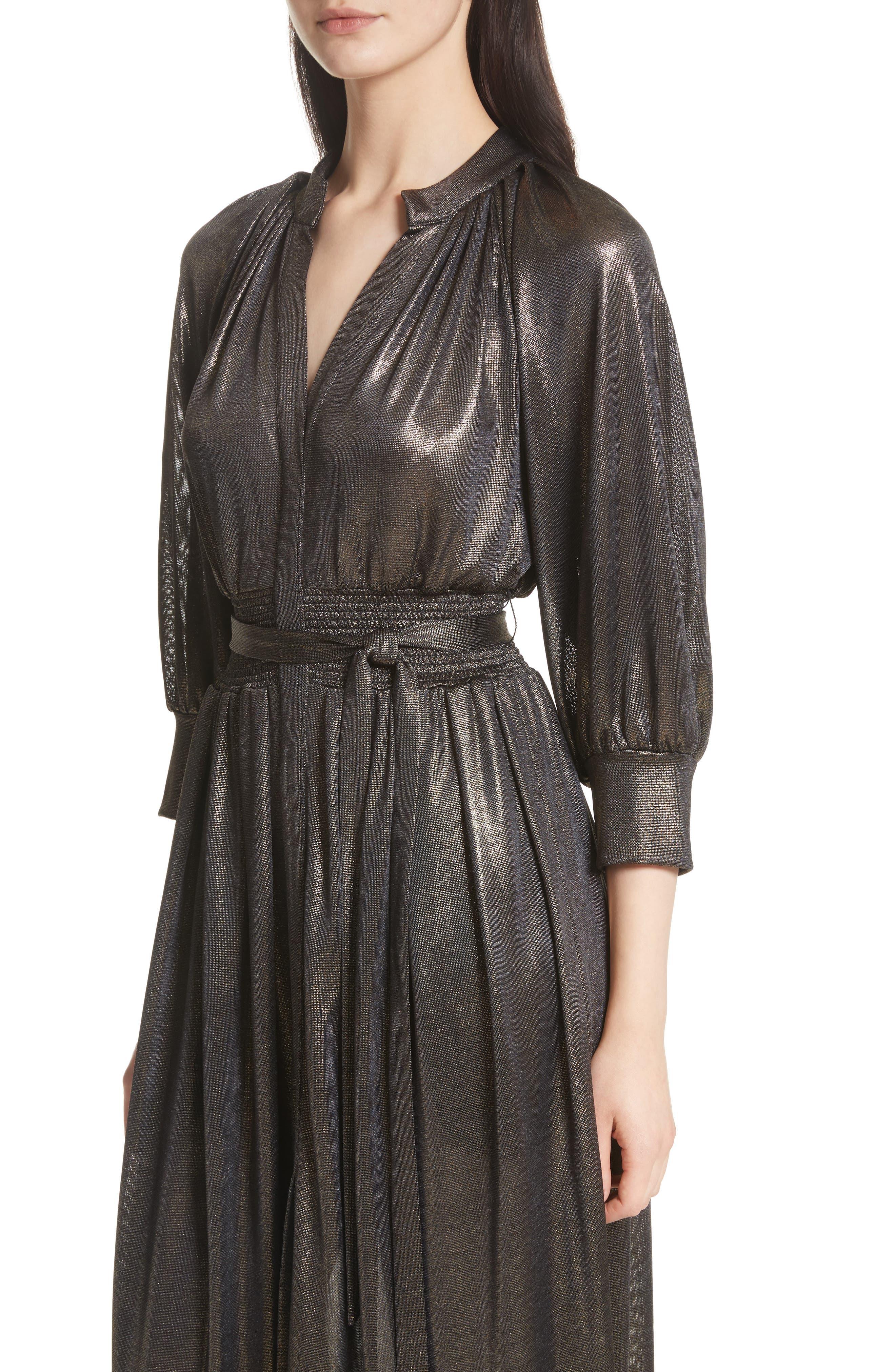 Alternate Image 4  - Tracy Reese Peasant Midi Dress