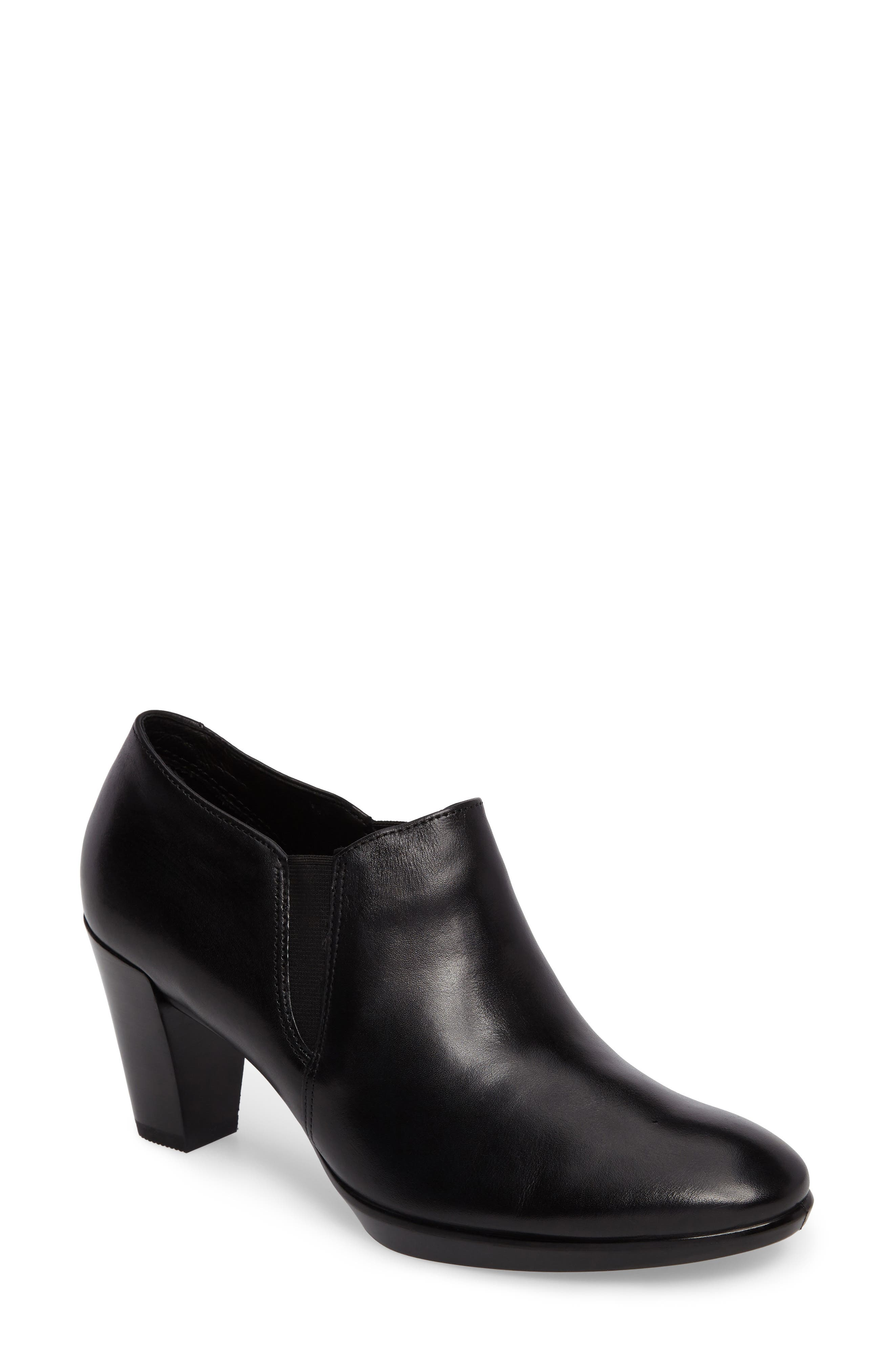 Alternate Image 1 Selected - ECCO Shape 55 Plateau Stack Bootie (Women)