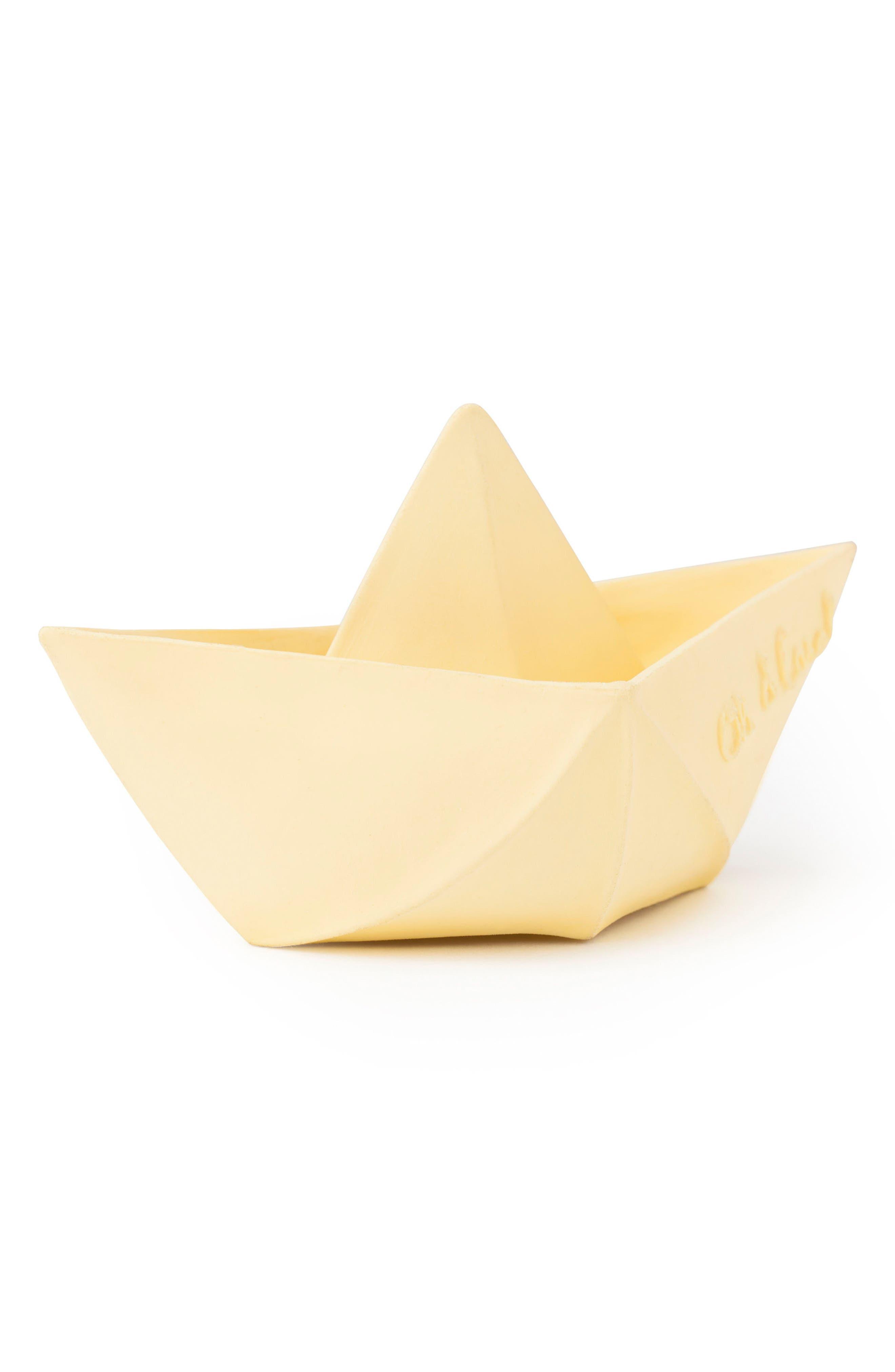 Oli & Carol Origami Boat Bath Toy