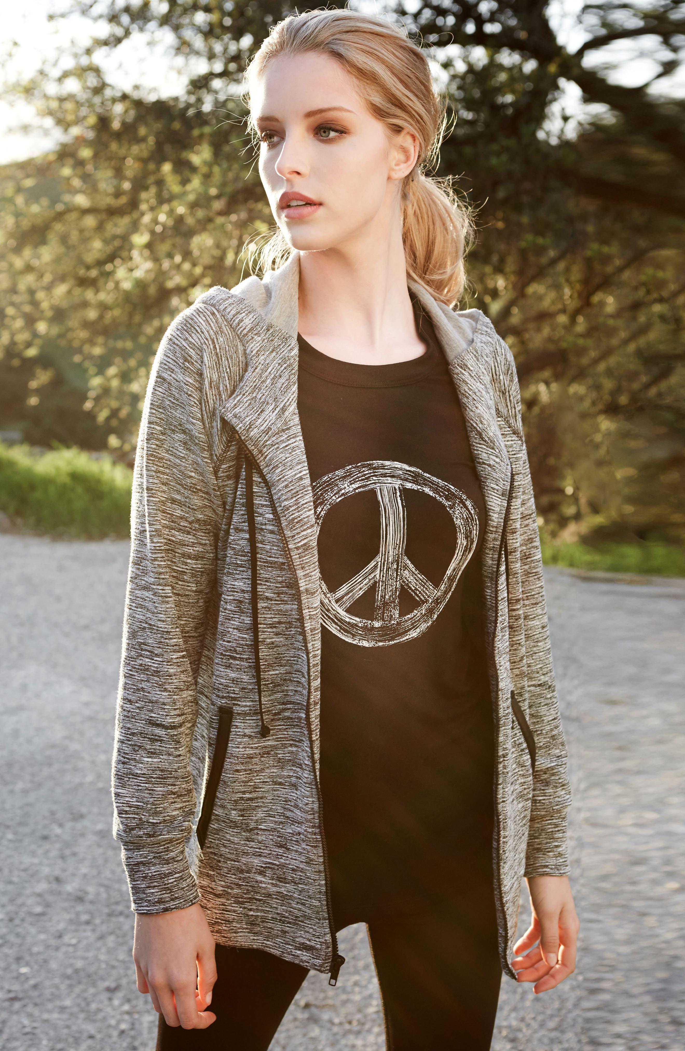 Alternate Image 2  - Karen Kane World Peace Tee