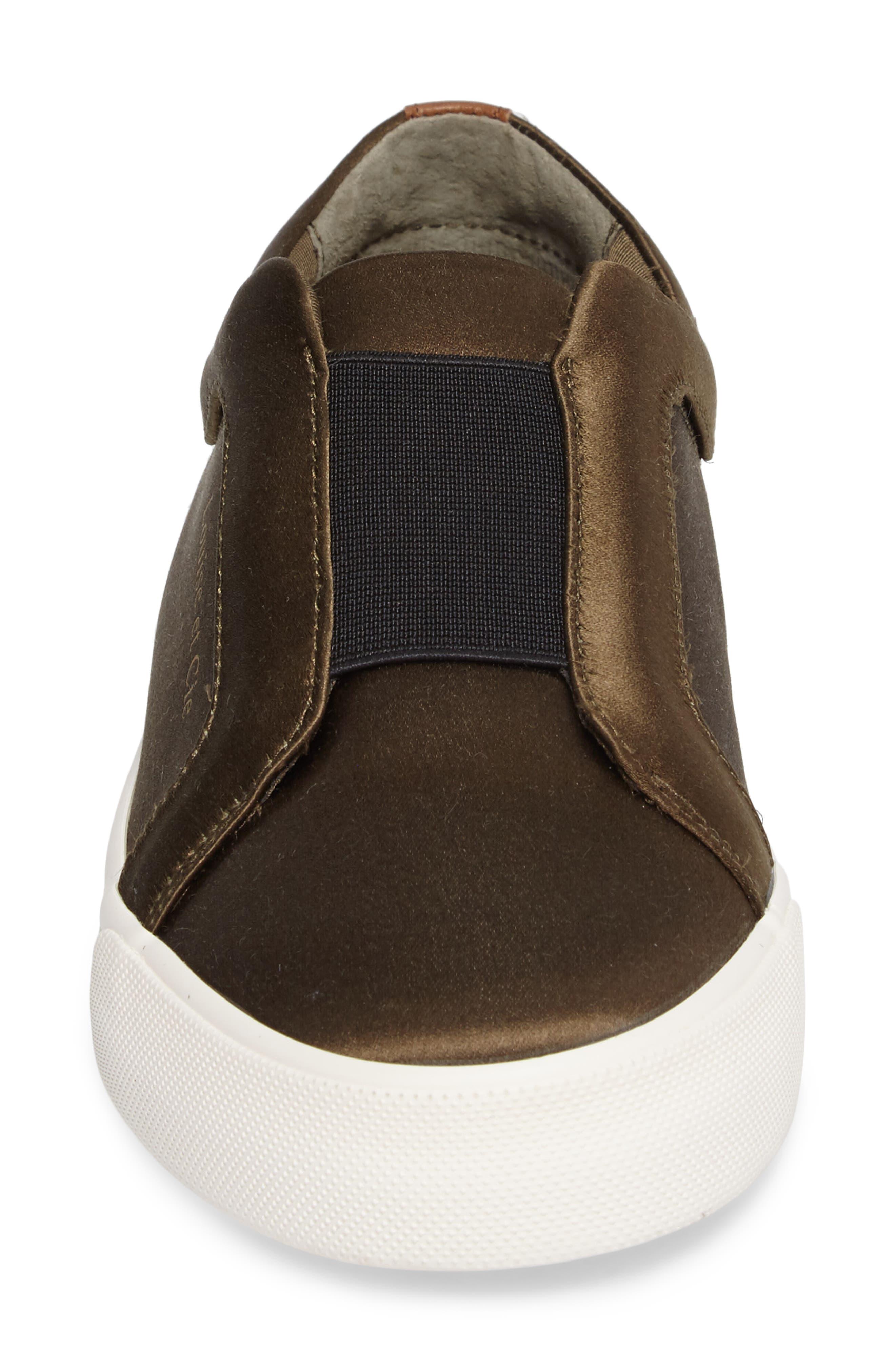 Bette Slip-On Sneaker,                             Alternate thumbnail 4, color,                             Peacoat/ Black Satin