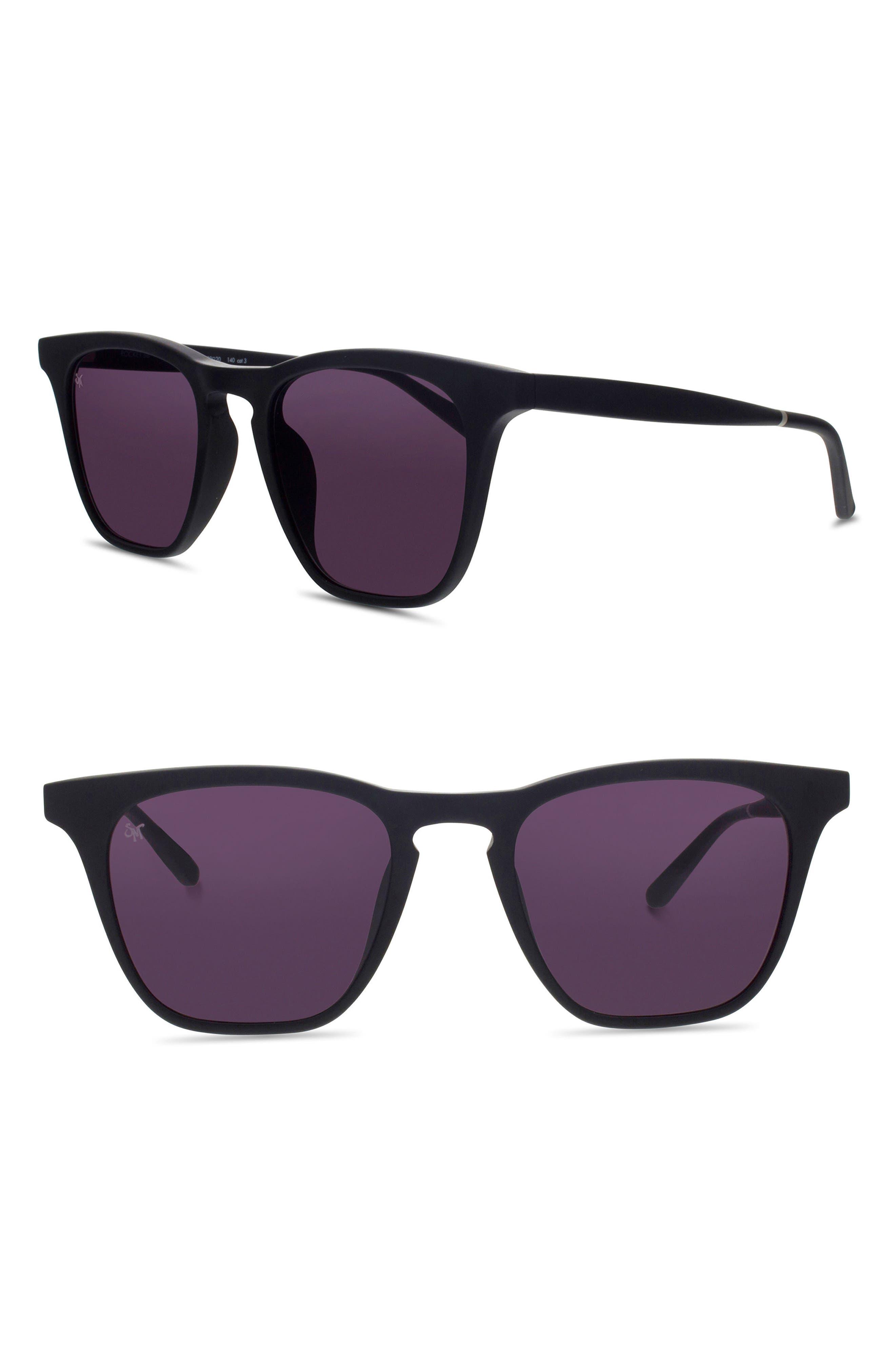 5a00b4a4f1f Smoke X Mirrors Rocket 88 50Mm Square Sunglasses - Matte Black ...