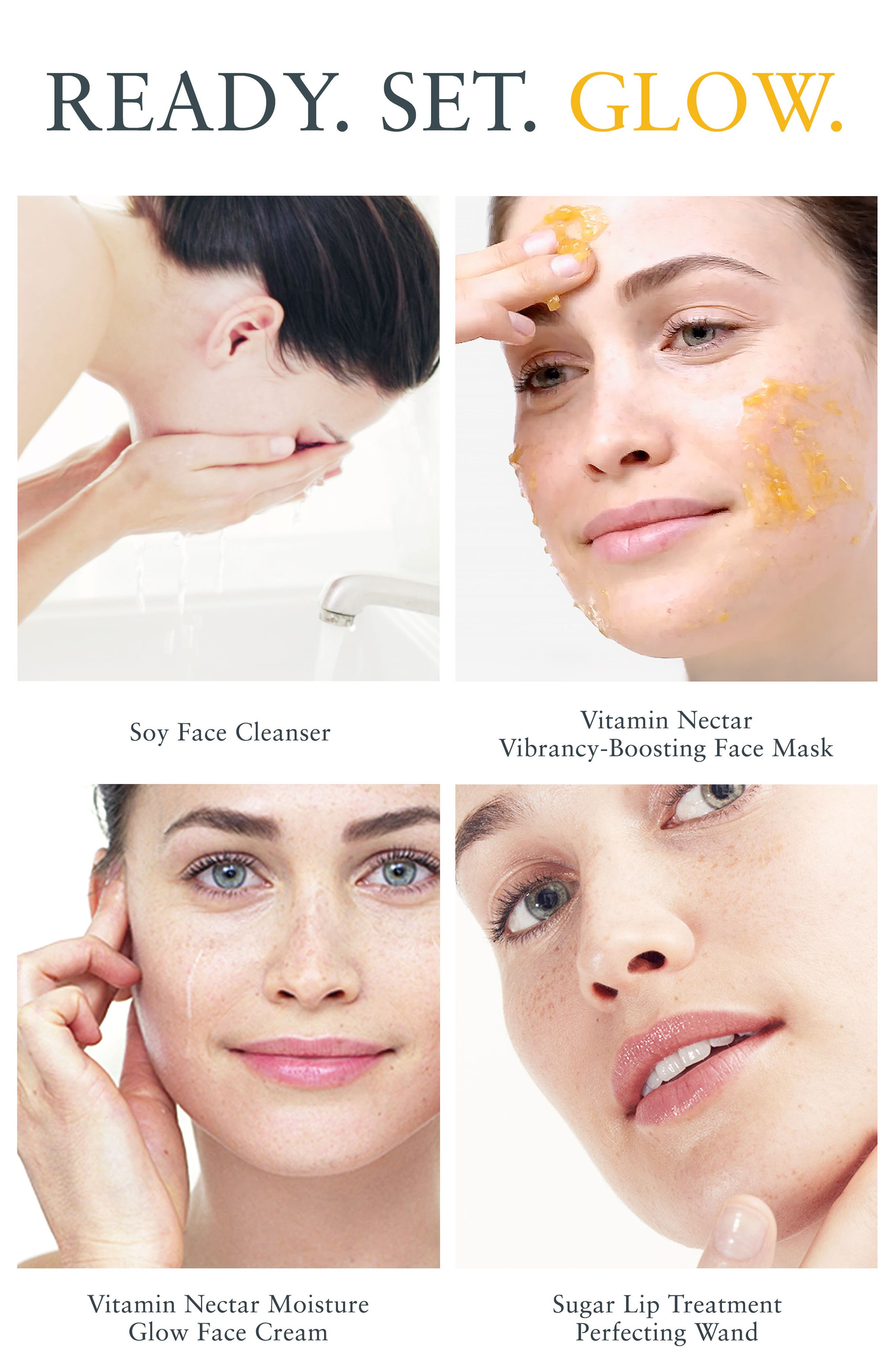 Alternate Image 2  - Fresh® Vitamin Nectar Moisture Glow Face Cream