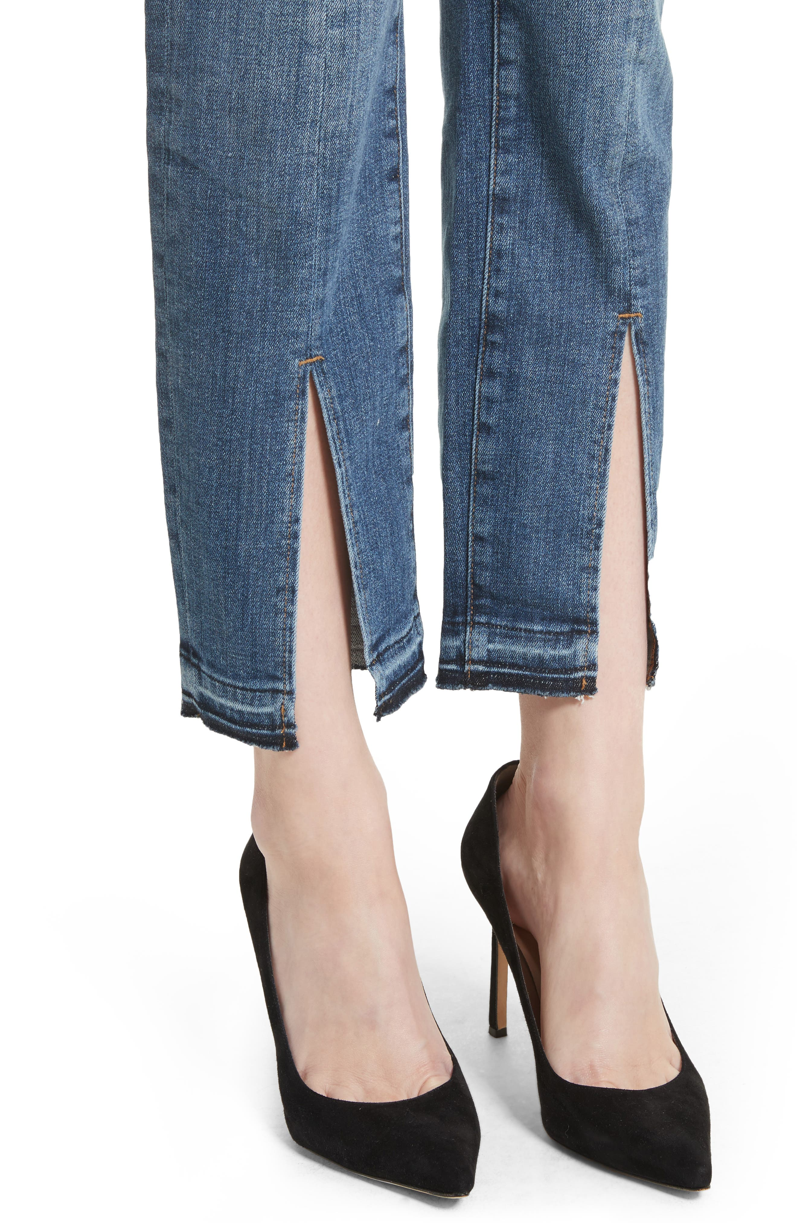 Alternate Image 5  - FRAME Le Nouveau Split Hem Jeans (Sheffield) (Nordstrom Exclusive)