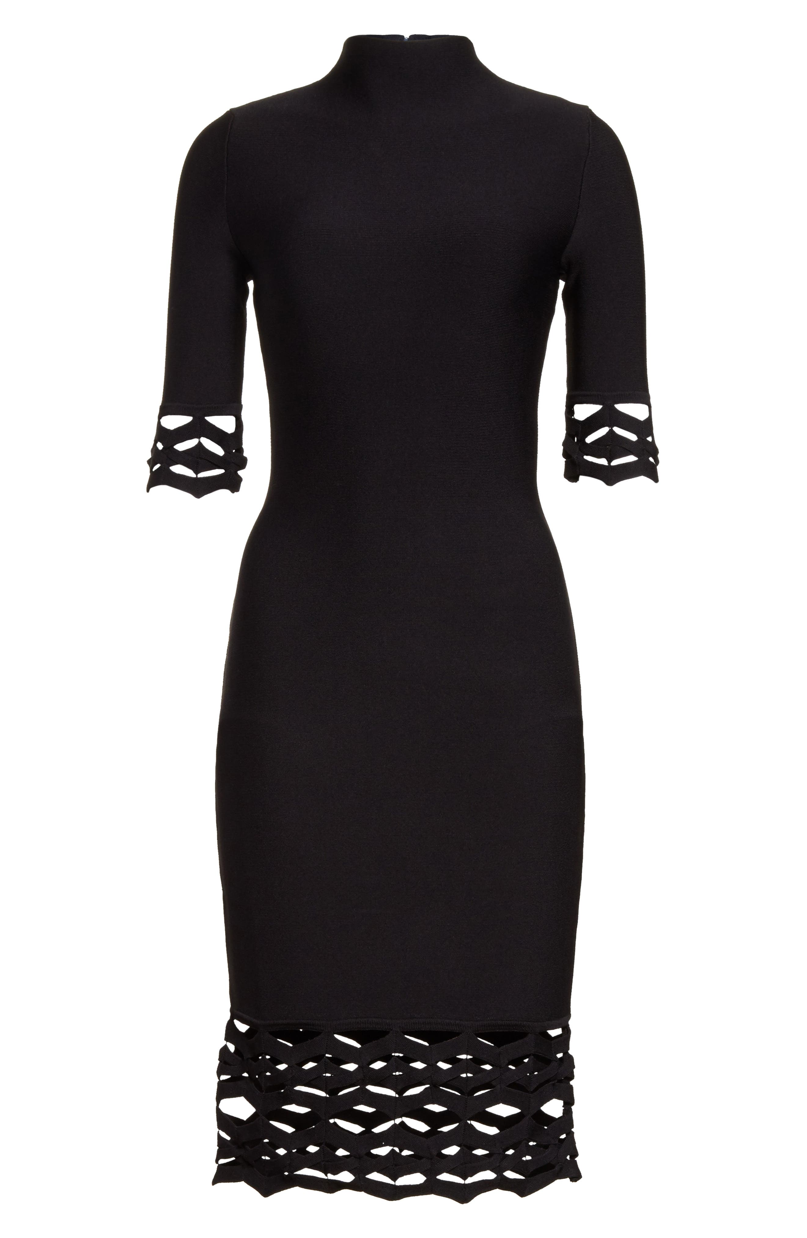 Alternate Image 6  - Milly Cutout Detail Sheath Dress
