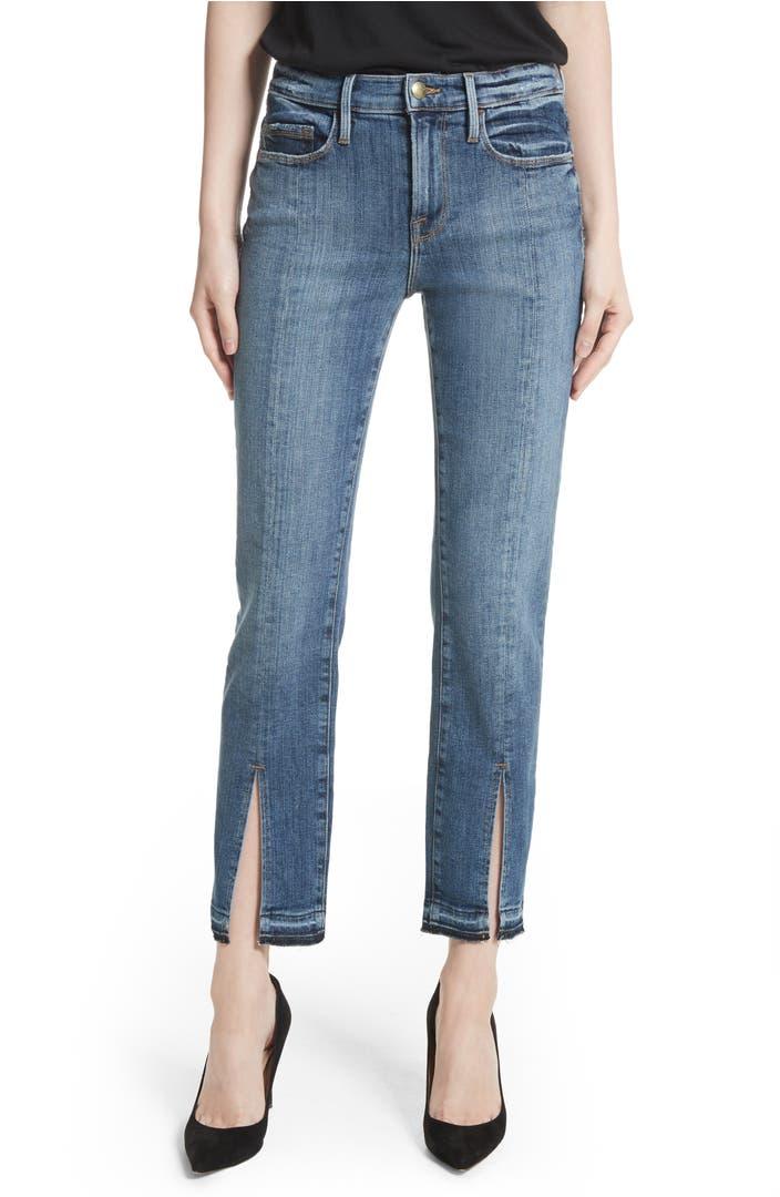 Exclusive Denim Adidas Top Ten 2000 Swaggy P Pes For: FRAME Le Nouveau Split Hem Jeans (Sheffield) (Nordstrom
