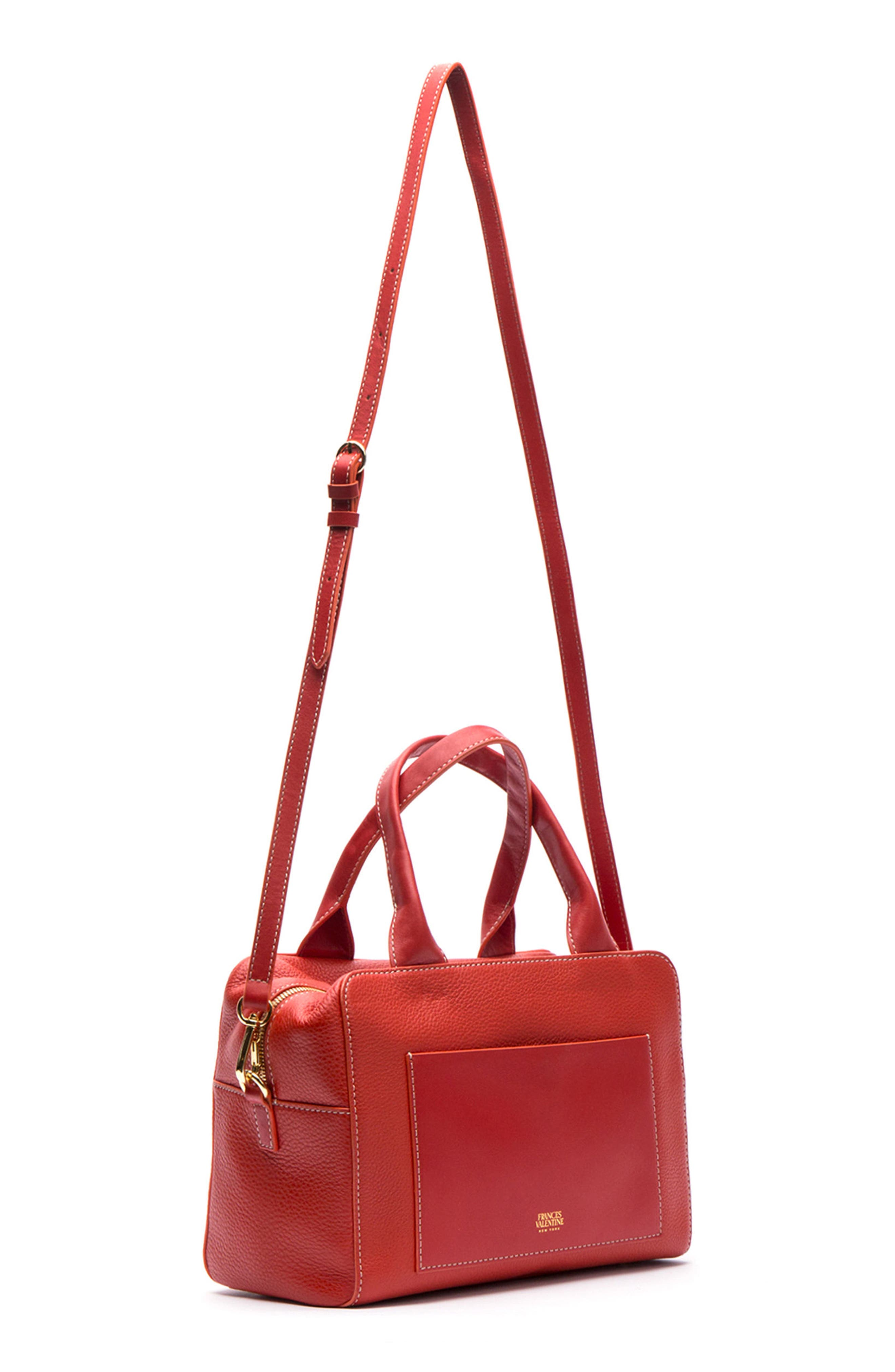 Medium Maddy Satchel,                             Alternate thumbnail 7, color,                             Coral
