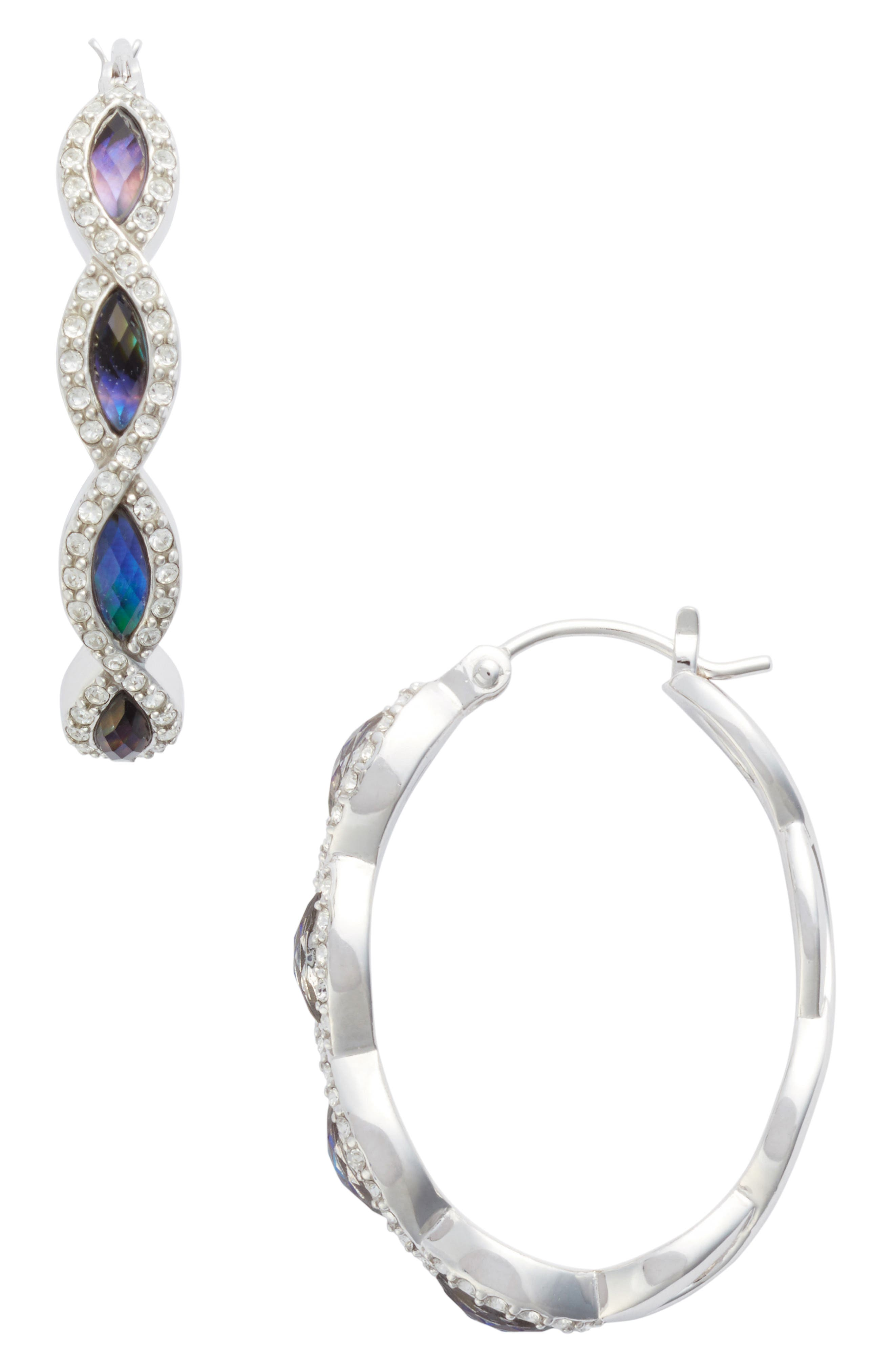 Judith Jack Tropical Touches Hoop Earrings
