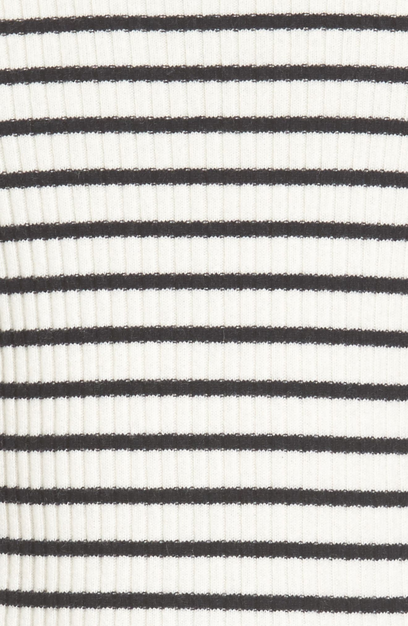 Alternate Image 4  - Vince Slim Fit Breton Stripe Cashmere Crewneck Sweater