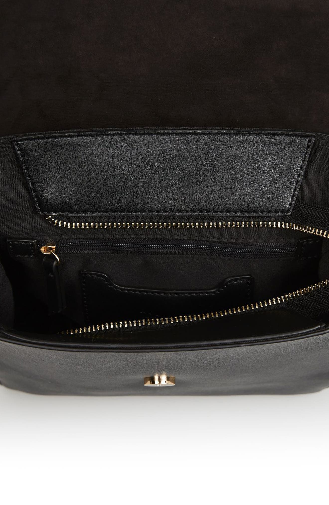 Alternate Image 3  - Topshop Mini Scandi Faux Leather Backpack