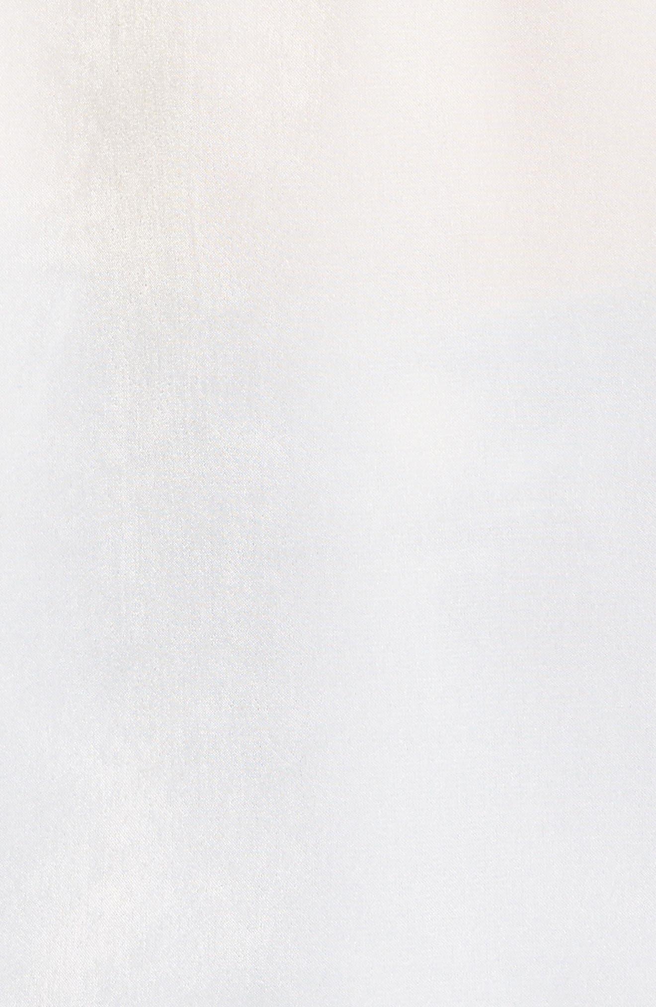 Lace Trim Camisole,                             Alternate thumbnail 5, color,                             Ivory