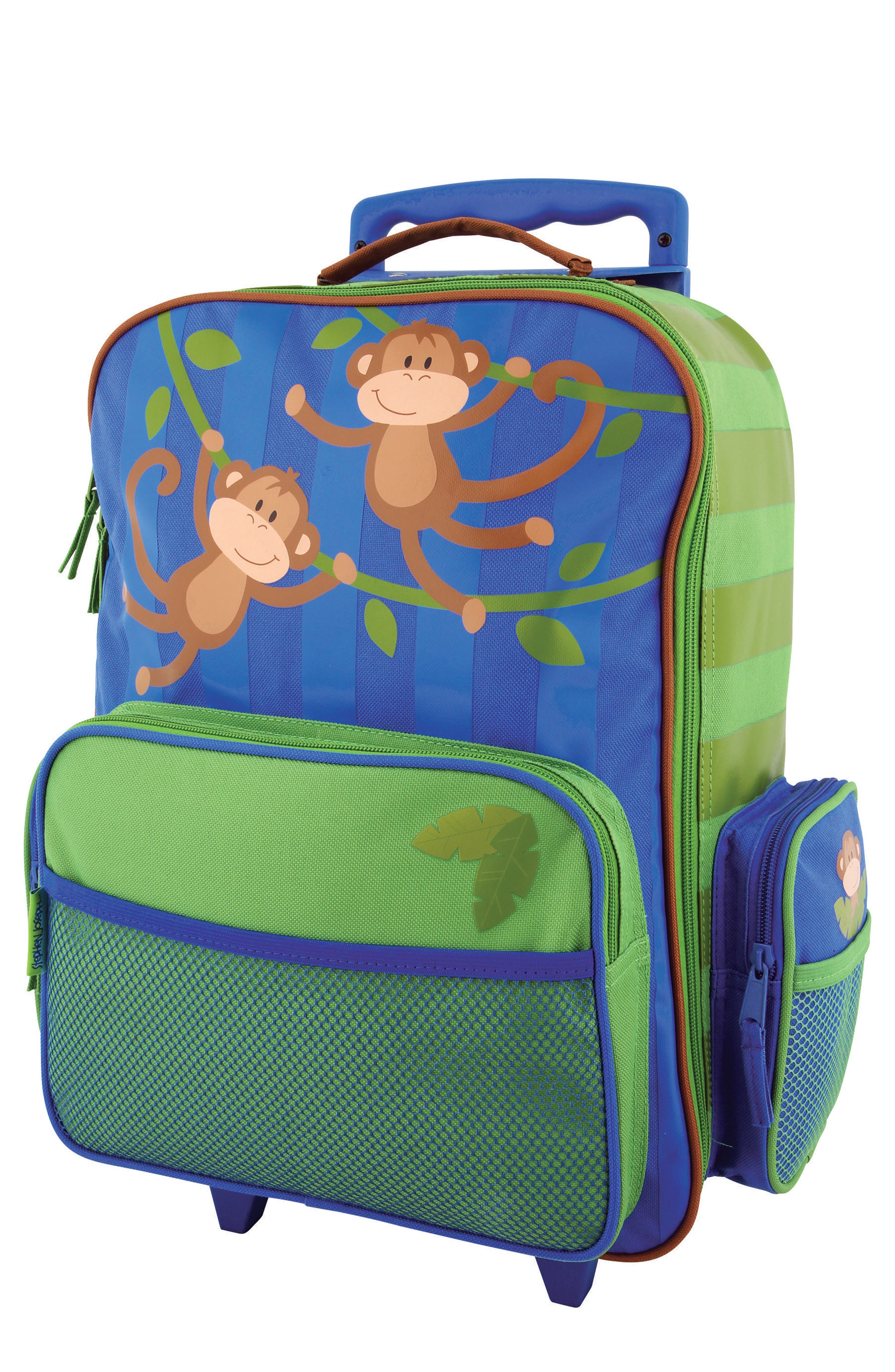 'ELP' Rolling Suitcase,                         Main,                         color, Monkey