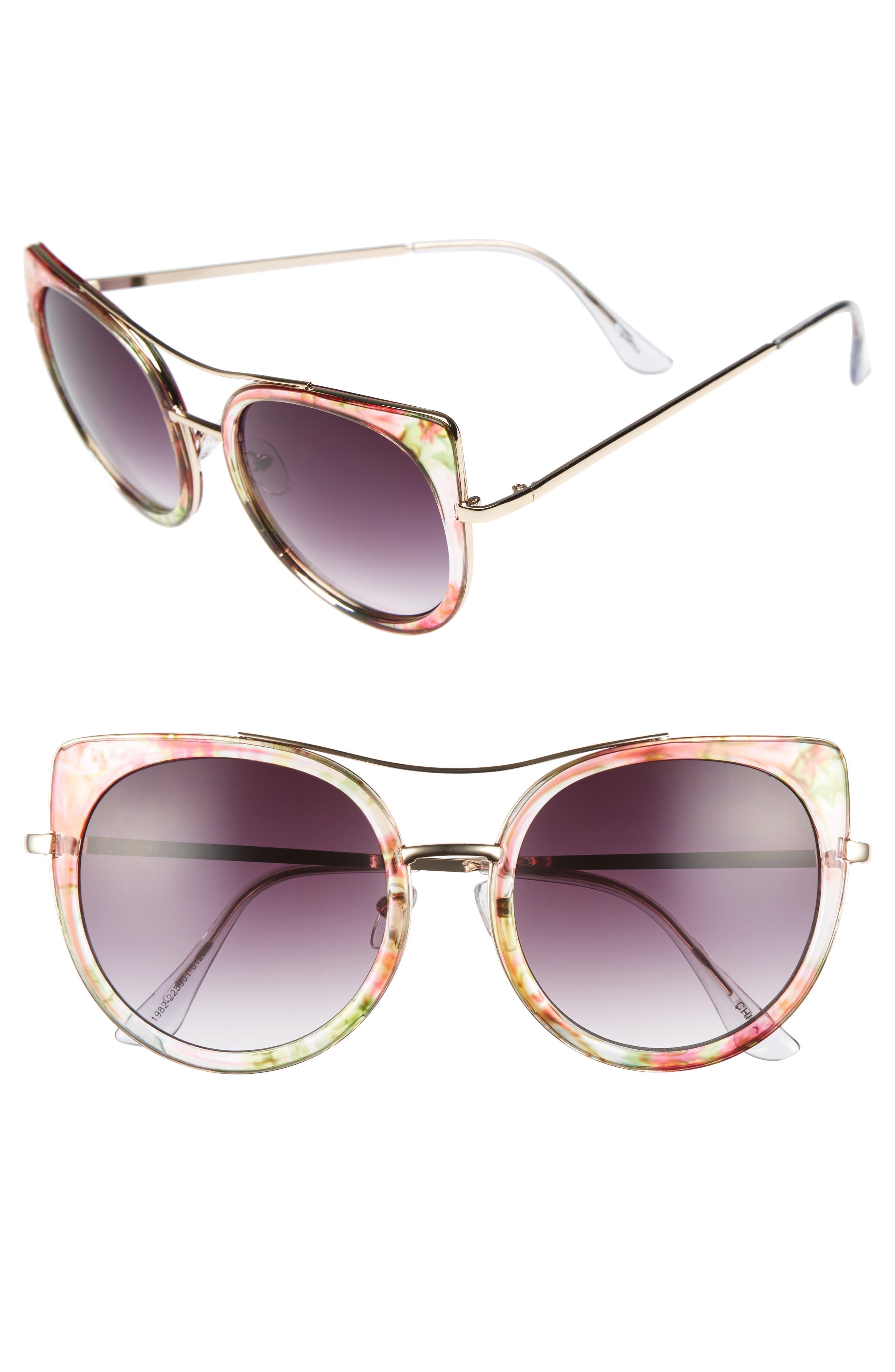 BP. 60mm Round Sunglasses