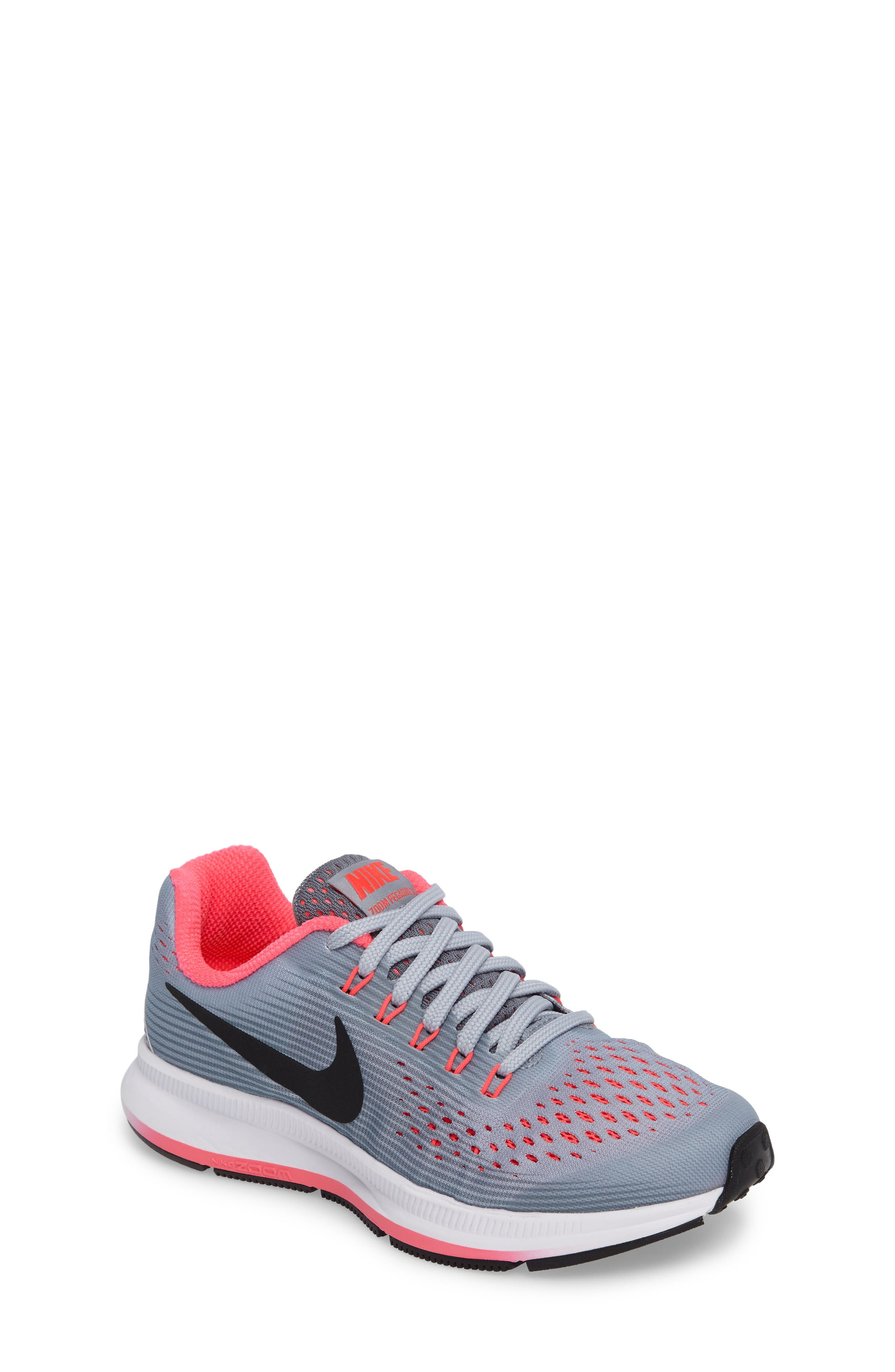 Main Image - Nike Zoom Pegasus 34 Sneaker (Little Kid & Big Kid)