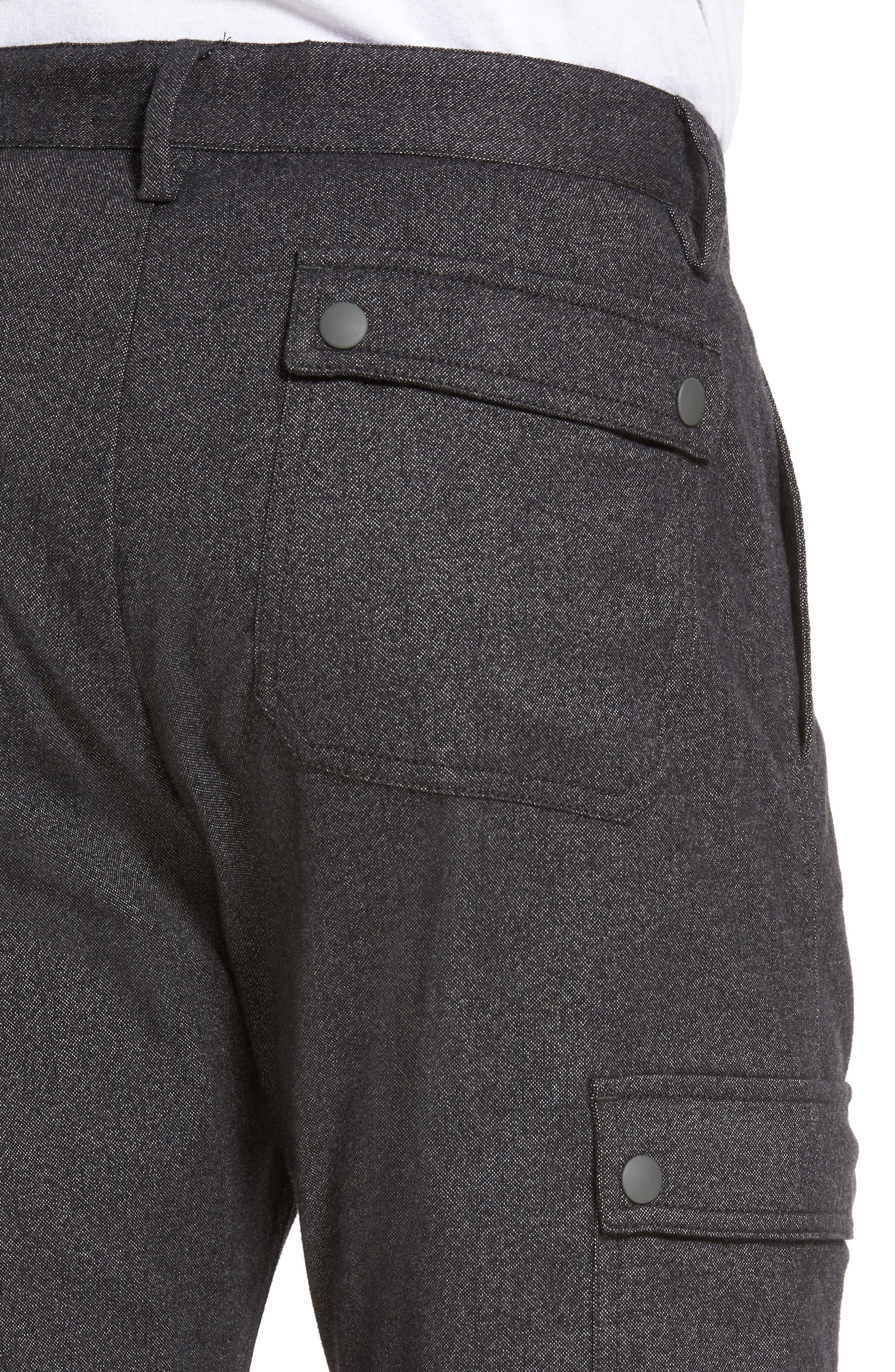 Rainer Cargo Pants,                             Alternate thumbnail 4, color,                             Dark Grey