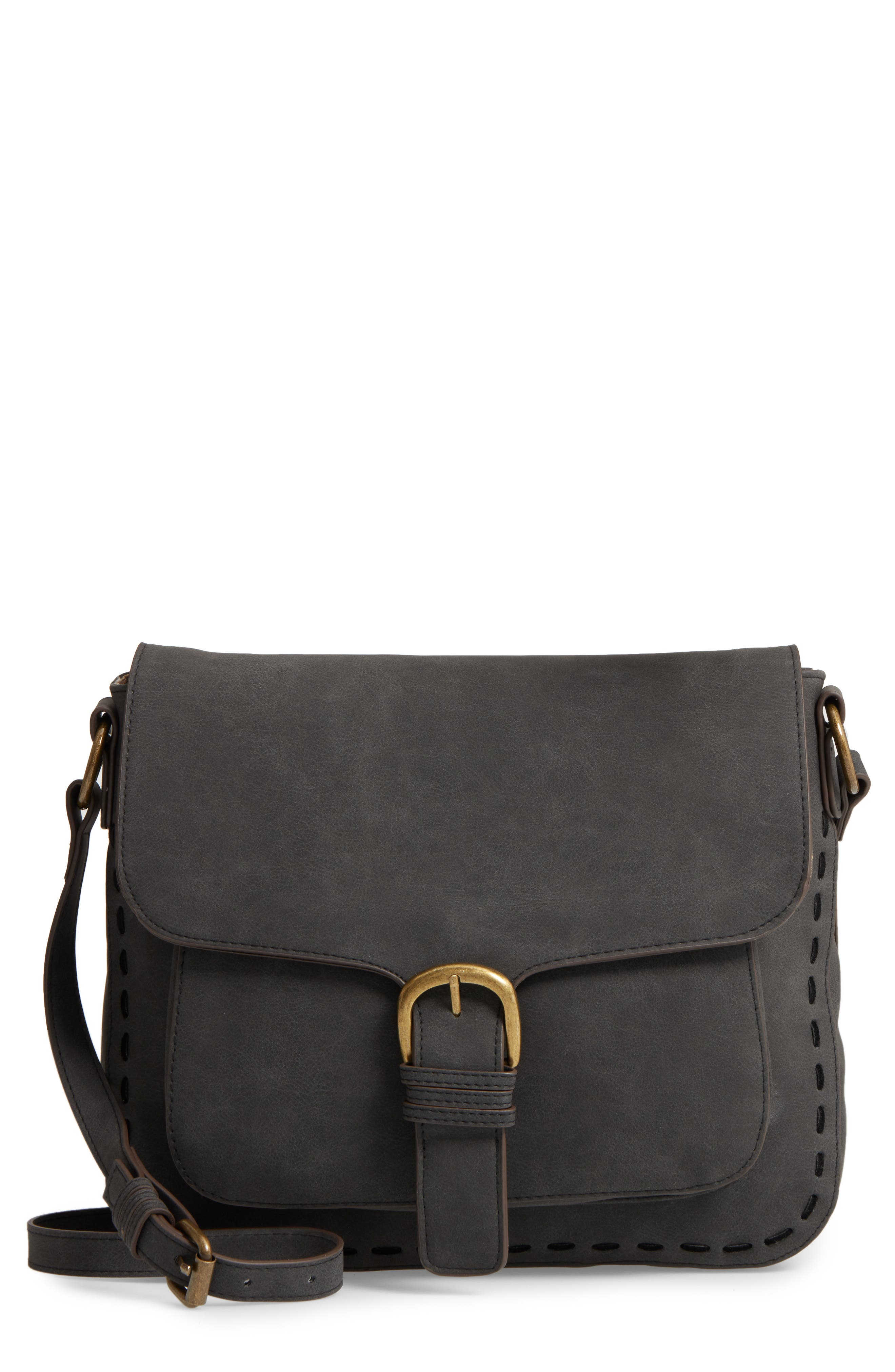 Elle & Jae Gypset 'Mauritius' Faux Leather Crossbody Bag