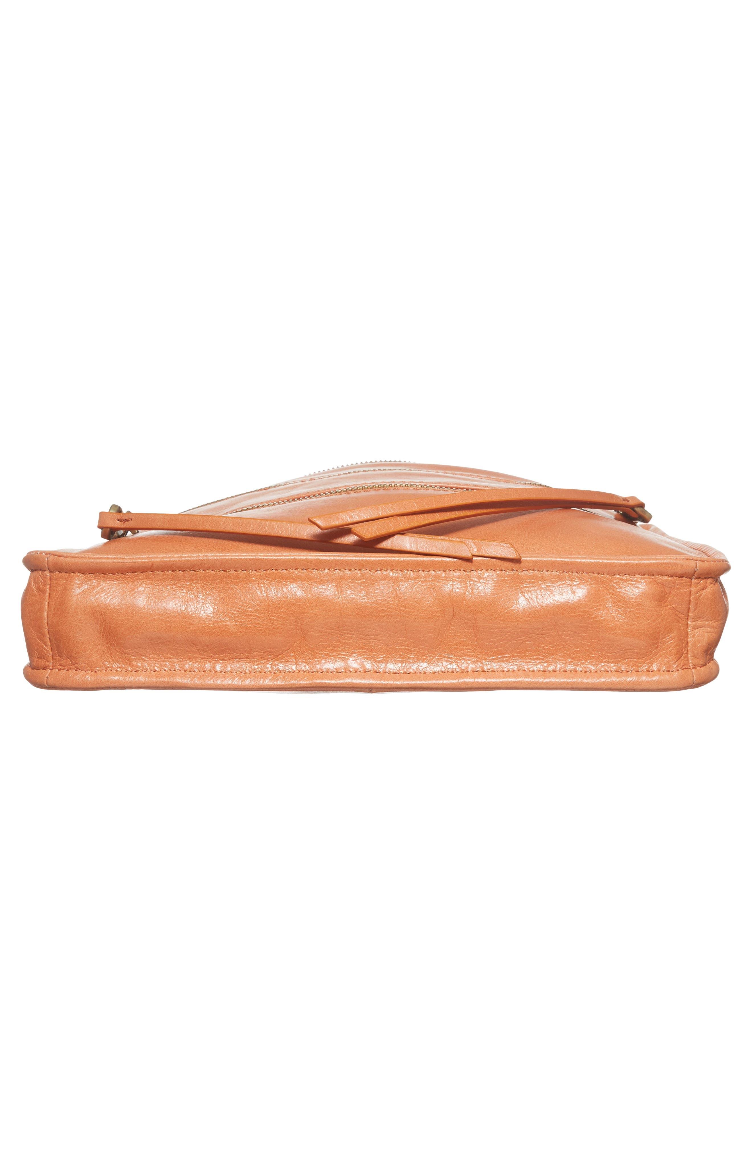 Alternate Image 5  - Hobo Mission Leather Crossbody Bag