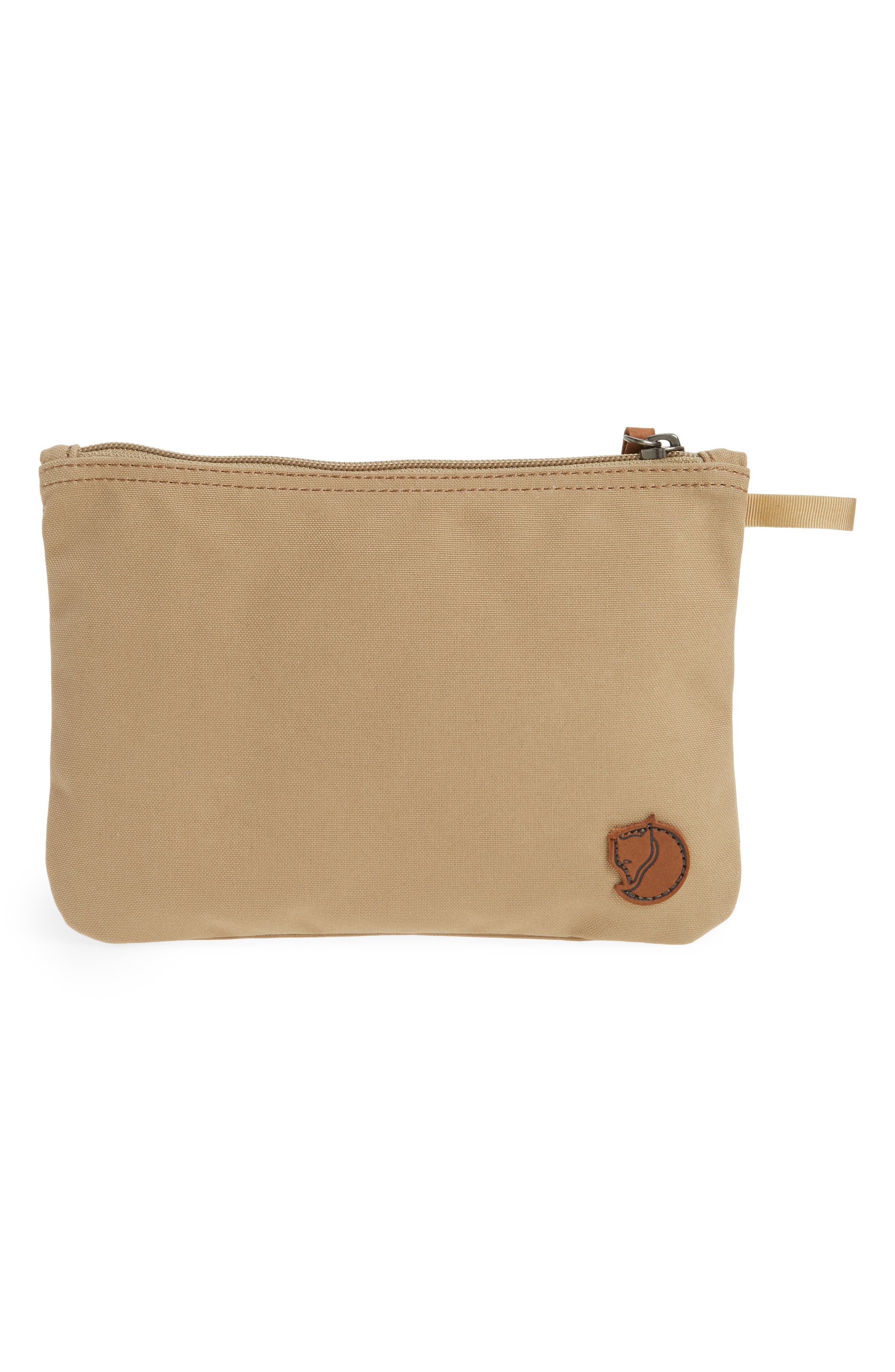 Gear Water-Resistant Pocket Pouch,                             Alternate thumbnail 2, color,                             Sand