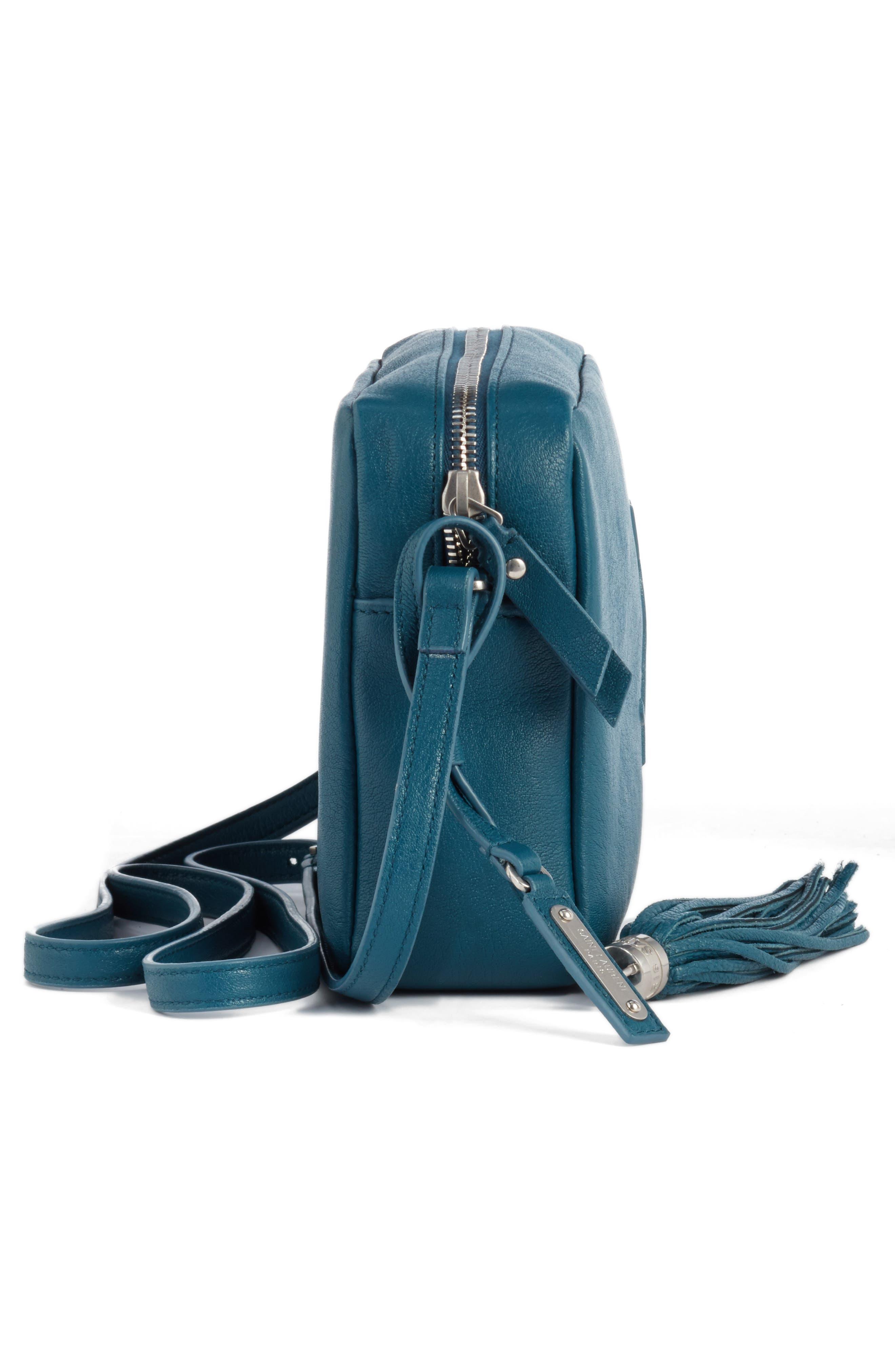 Alternate Image 4  - Saint Laurent Small Mono Leather Camera Bag