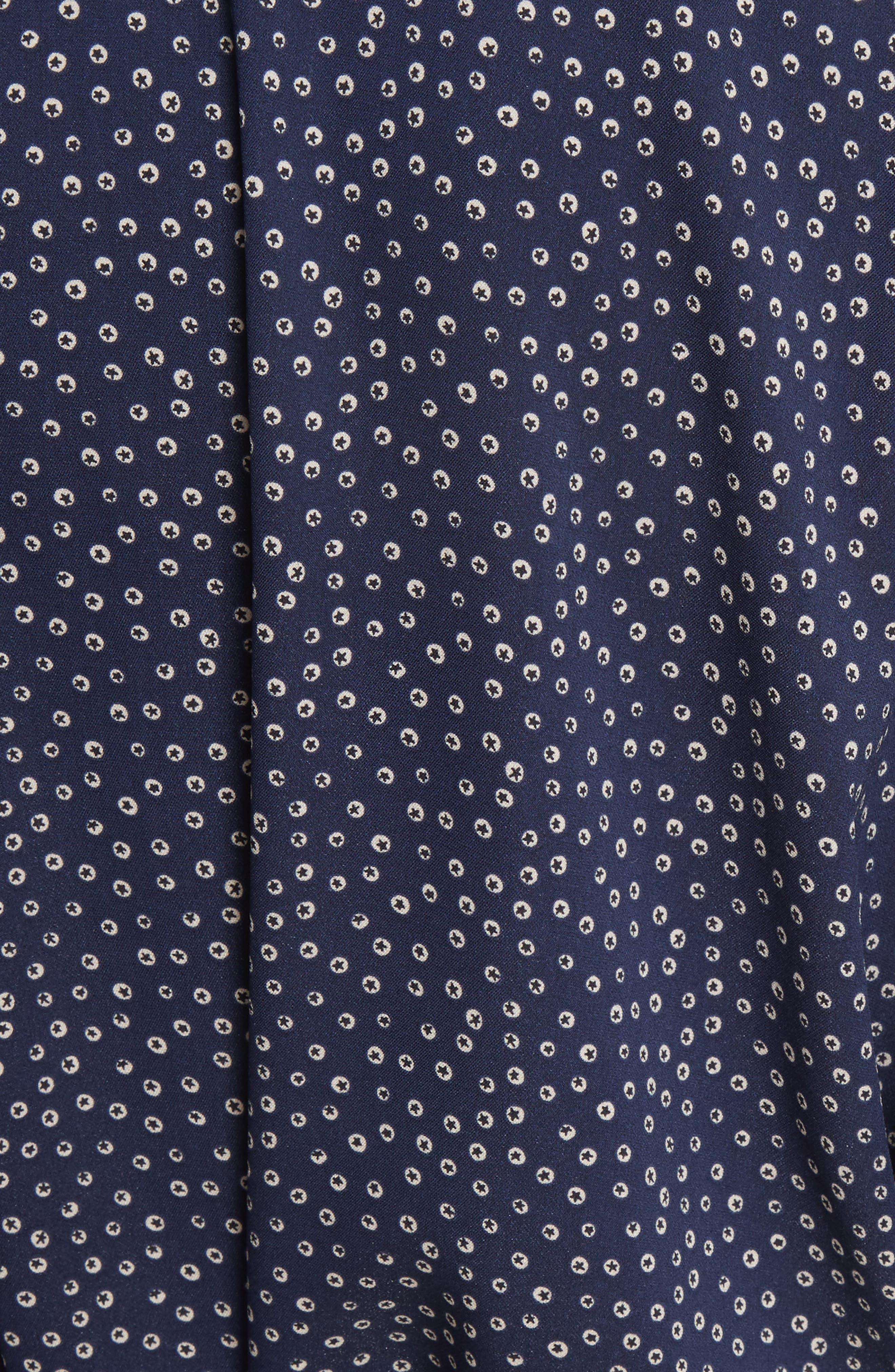 Alternate Image 5  - Vince Celestial Polka Dot Kimono Wrap Dress