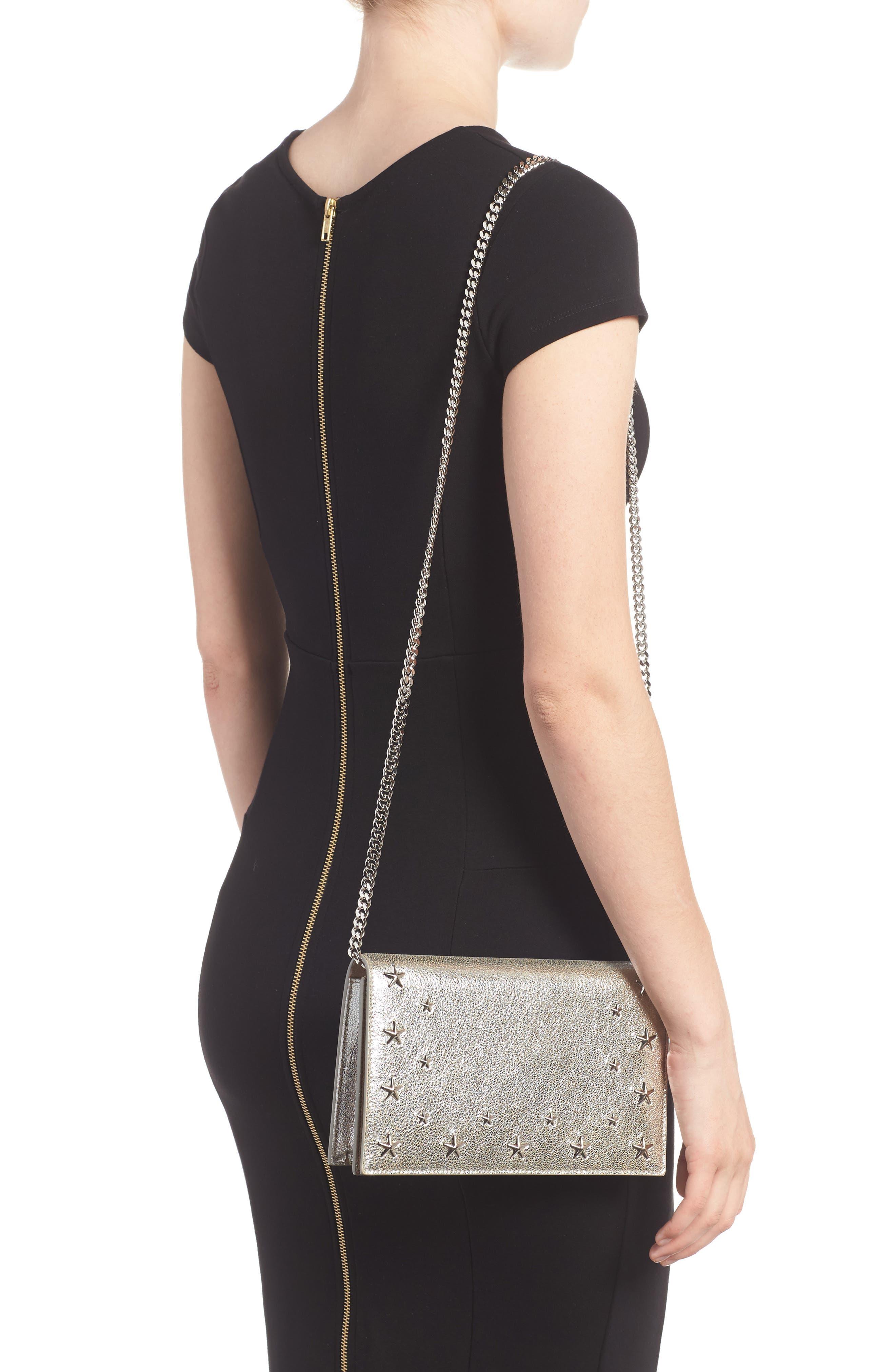 Alternate Image 2  - Jimmy Choo Sky Leather Crossbody Bag
