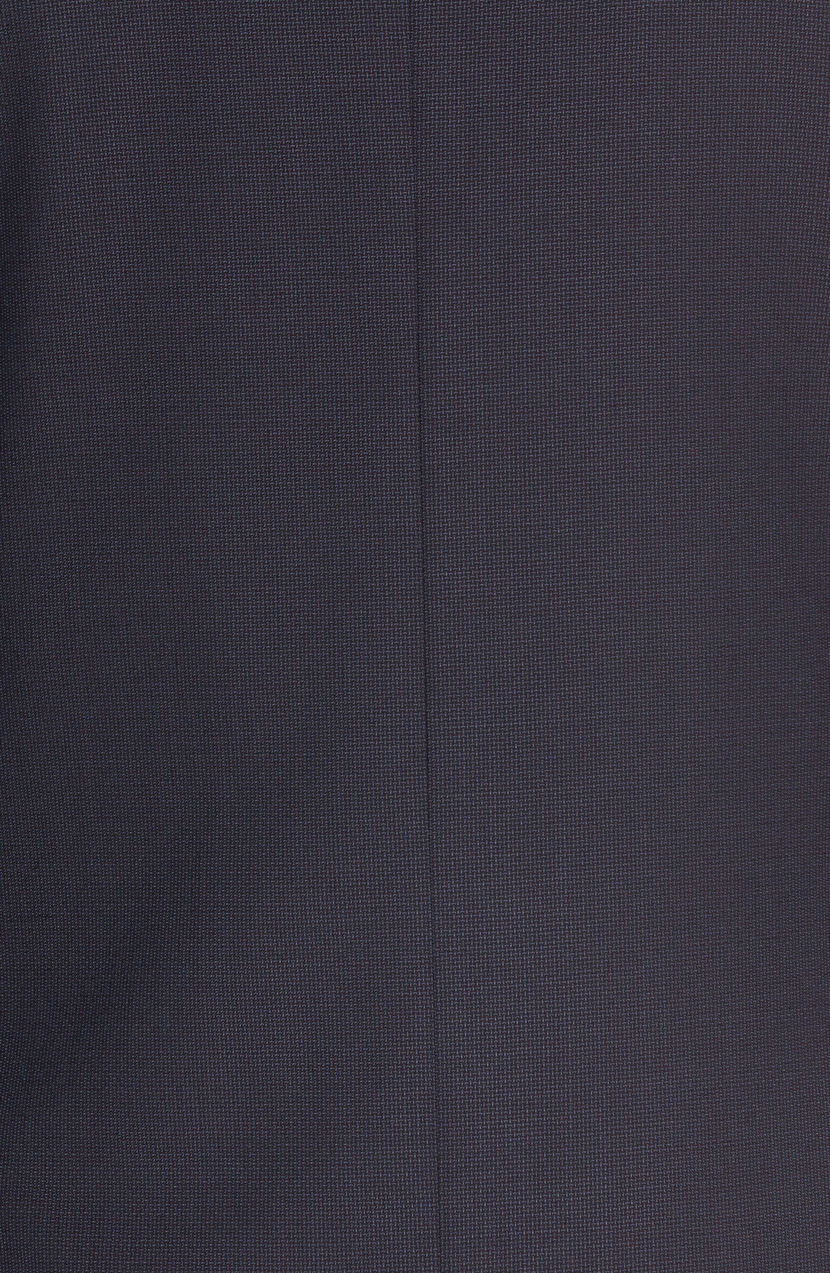 Alternate Image 5  - Nordstrom Men's Shop Classic Fit Solid Wool Sport Coat