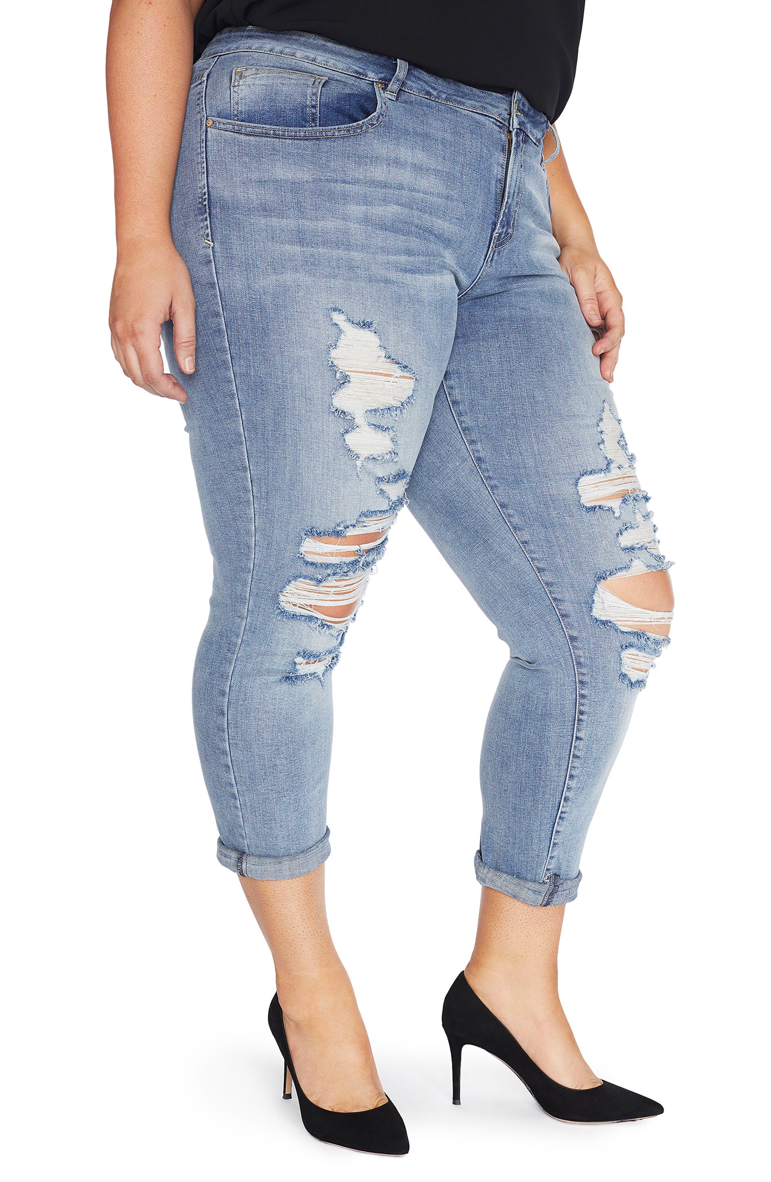 The Ryot Slim Boyfriend Jeans,                         Main,                         color, Figueroa/ Vintage