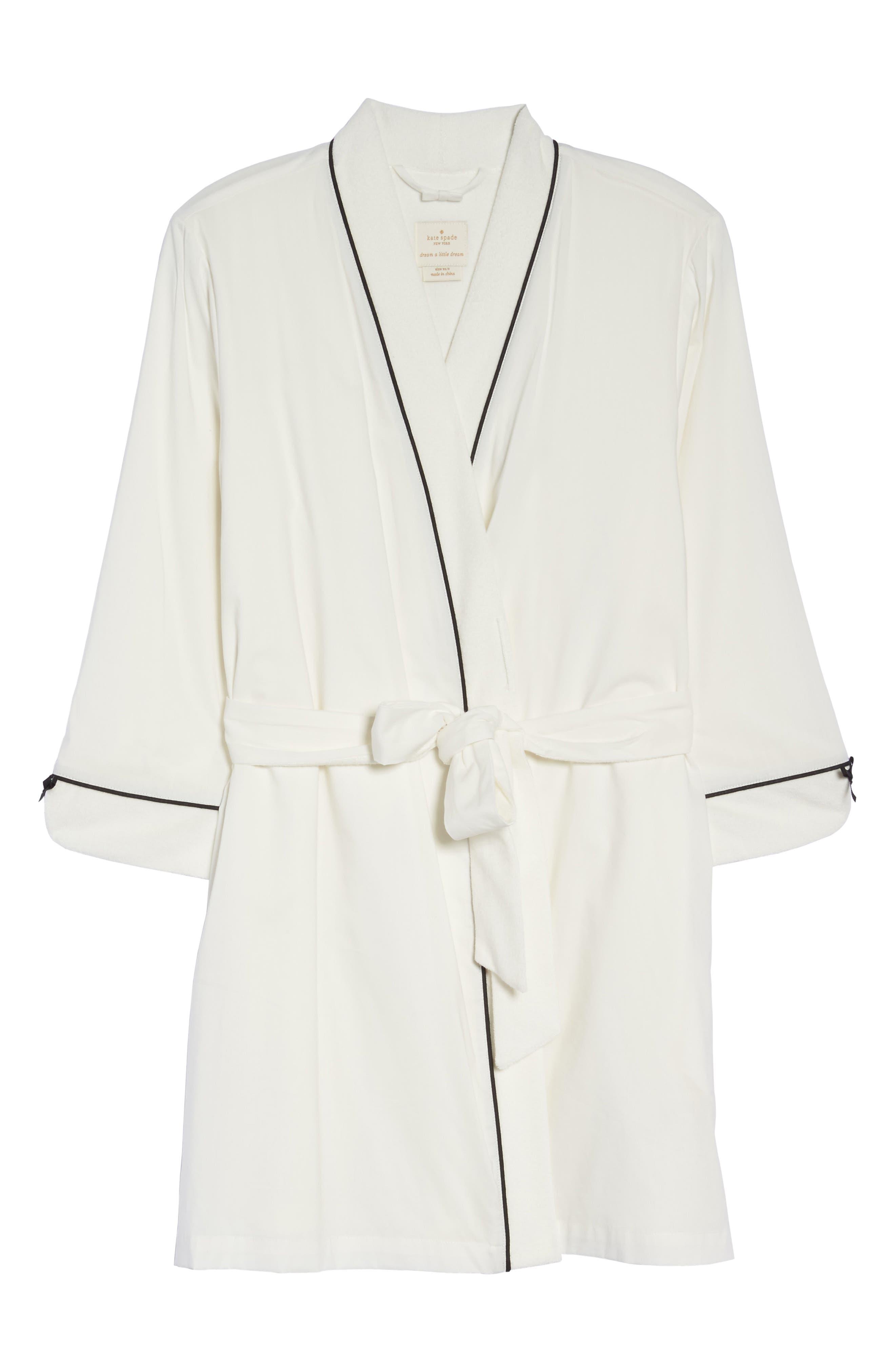 Alternate Image 4  - kate spade new york short robe