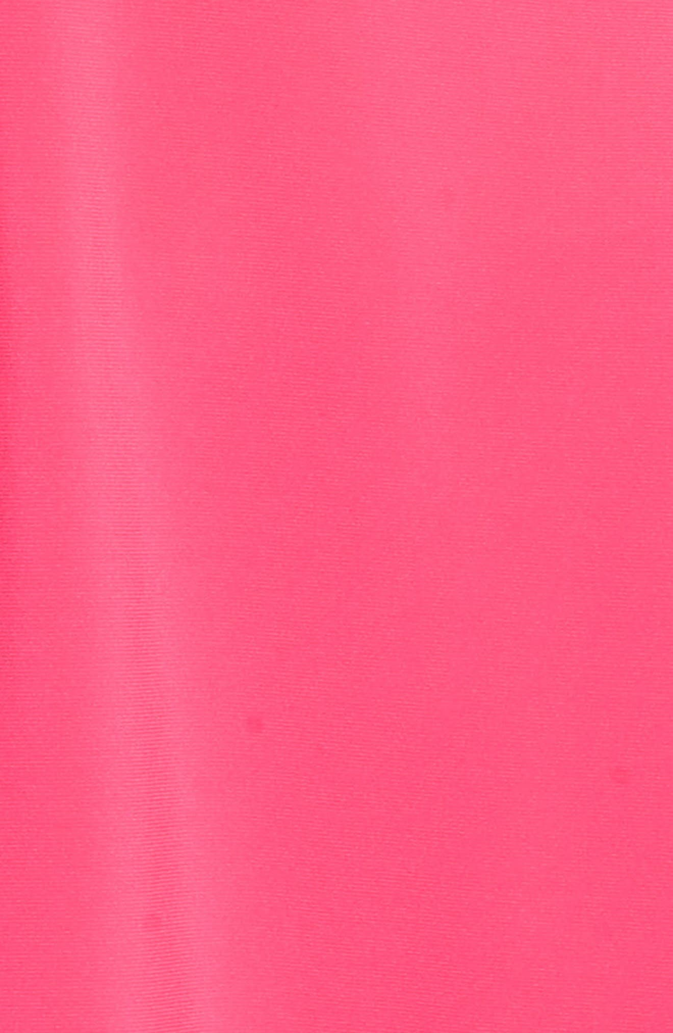 Zip Shoulder Handkerchief Top,                             Alternate thumbnail 5, color,                             Rhododendron