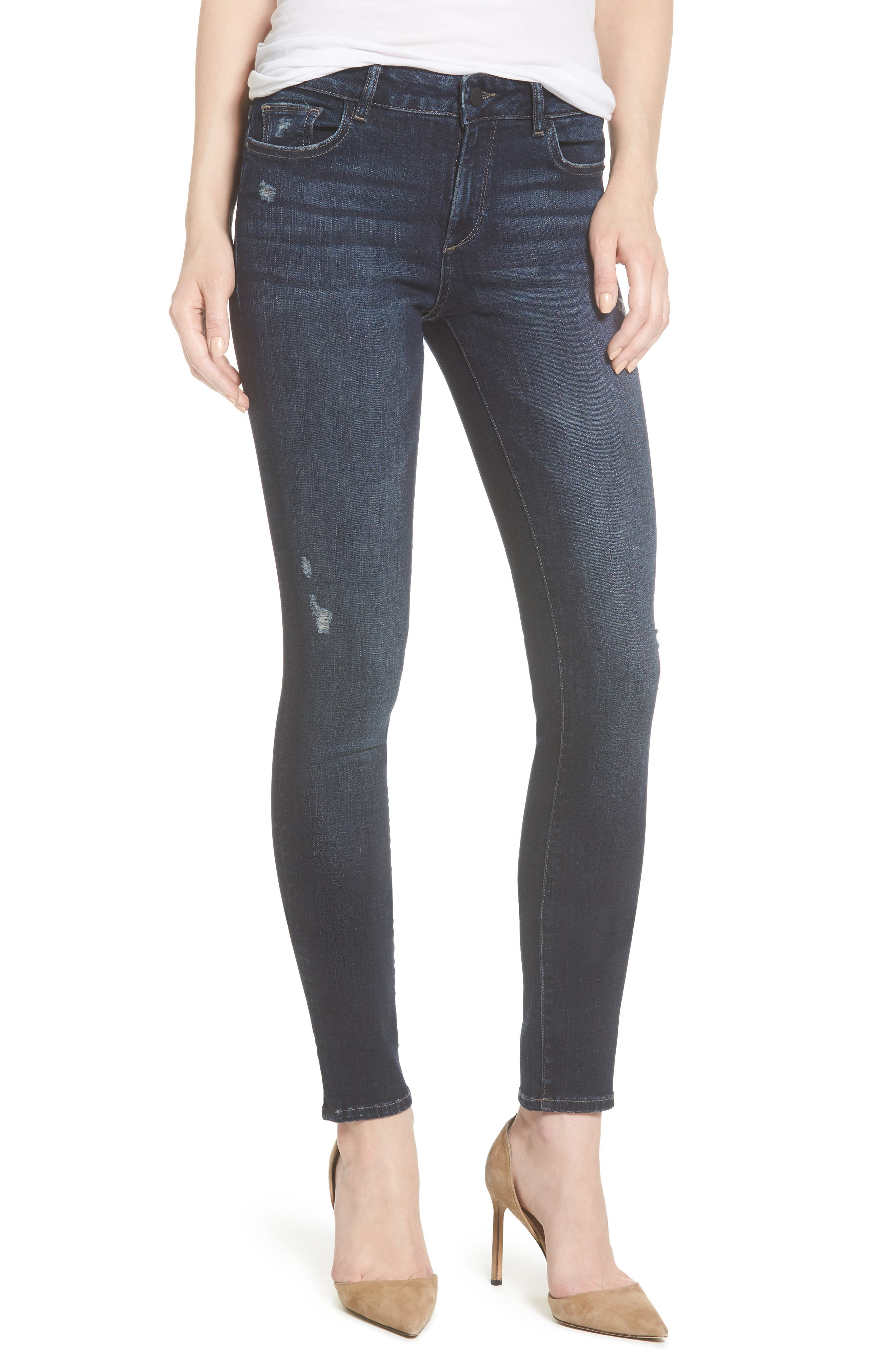 Florence Instasculpt Skinny Jeans,                         Main,                         color, Darcy
