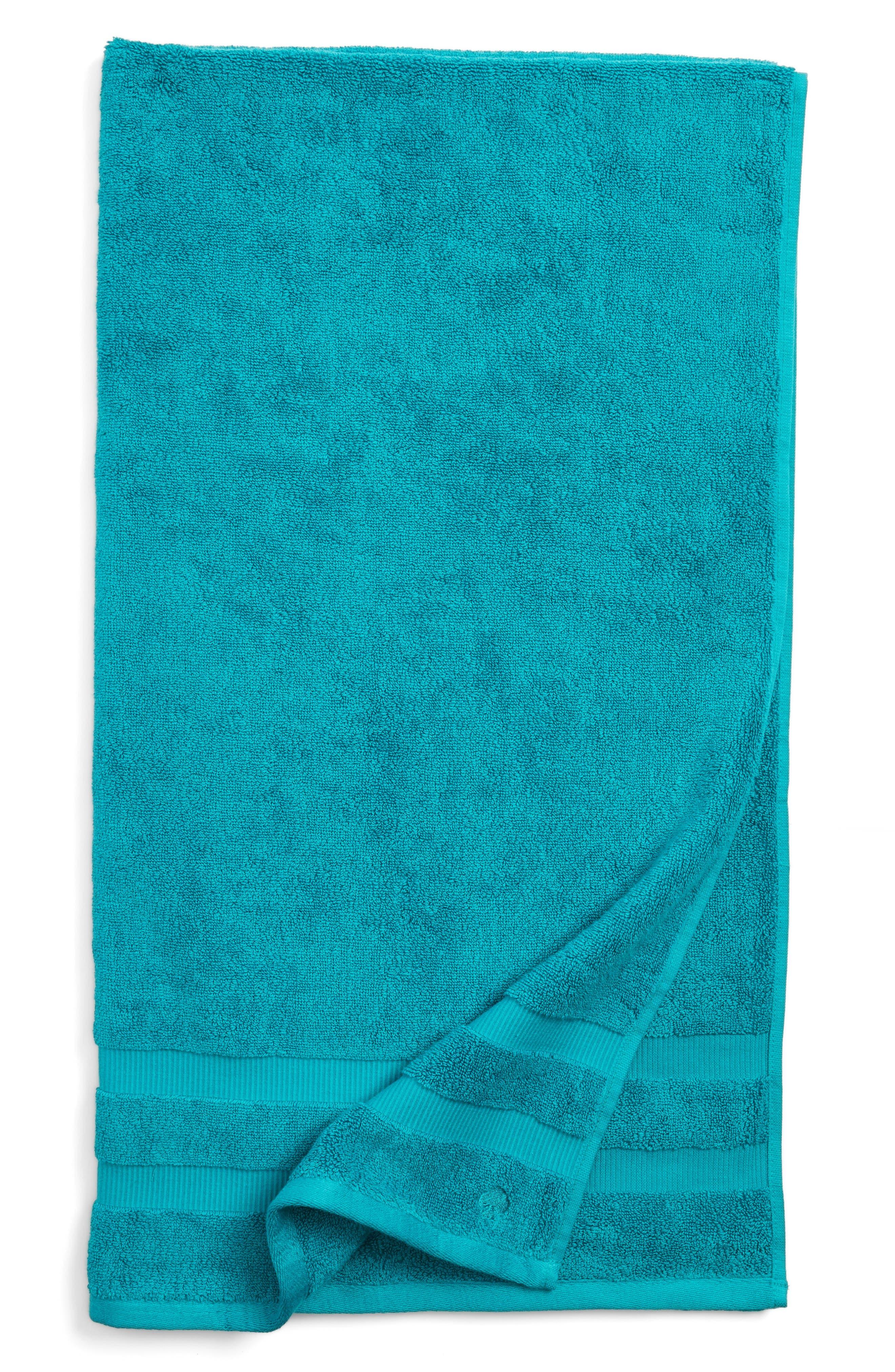 'chattam stripe' bath towel,                             Main thumbnail 1, color,                             Caribe