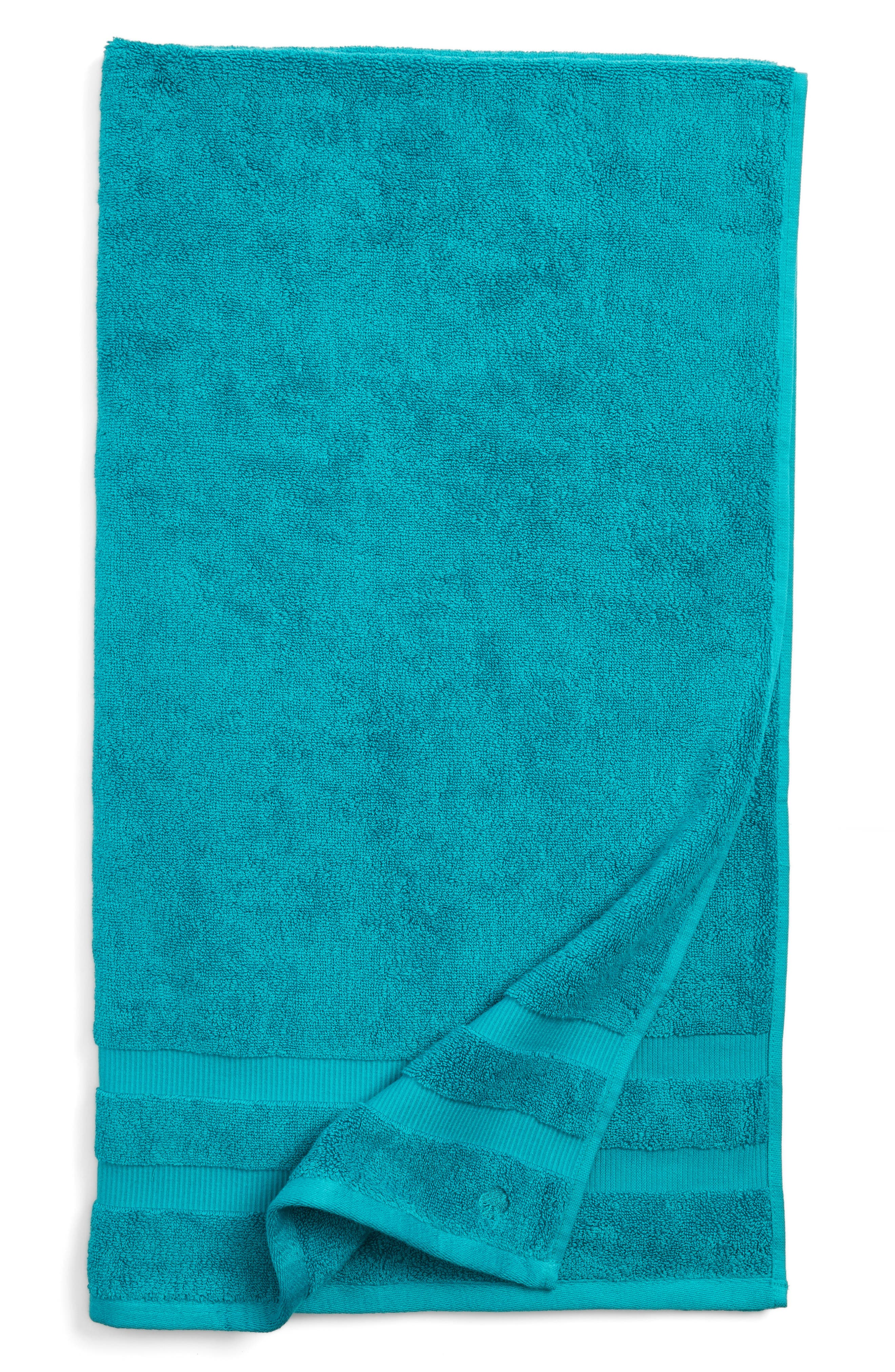 'chattam stripe' bath towel,                         Main,                         color, Caribe