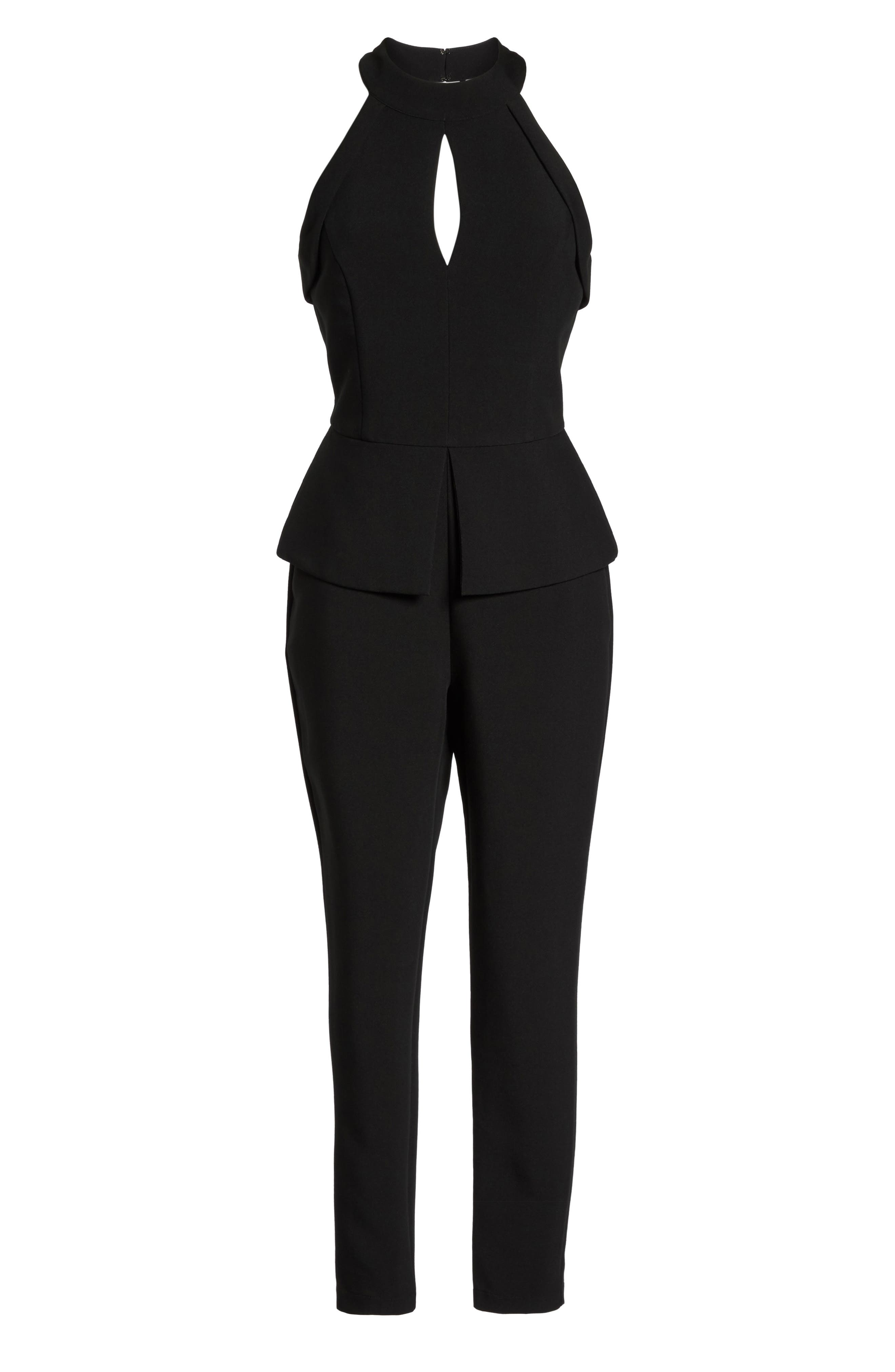 Marlena Jumpsuit,                             Alternate thumbnail 6, color,                             Black
