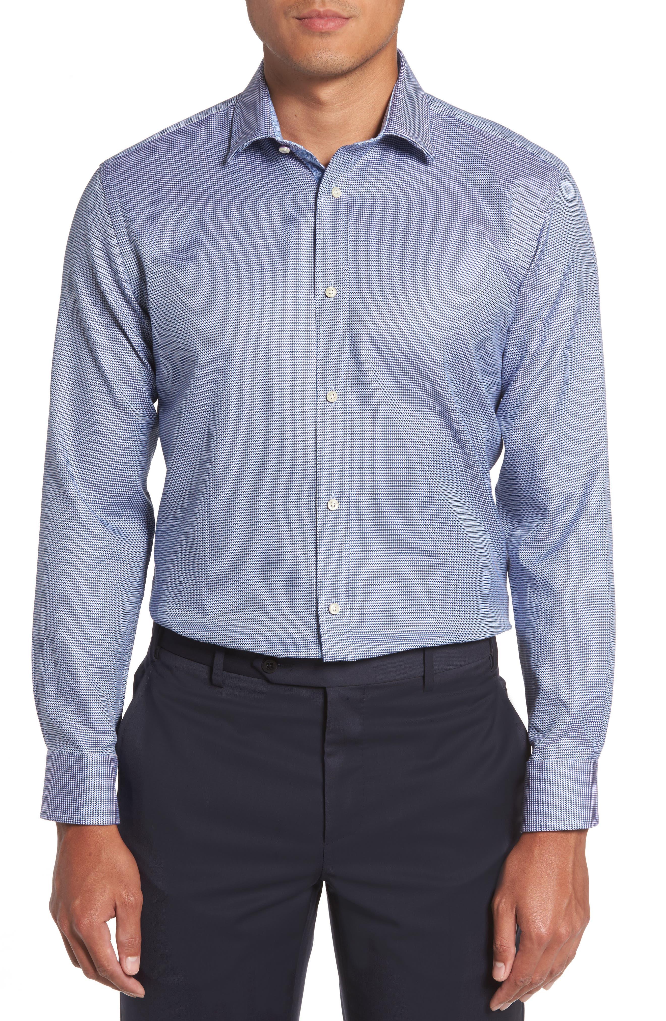 Alternate Image 2  - Ted Baker London Chimy Trim Fit Geometric Dress Shirt