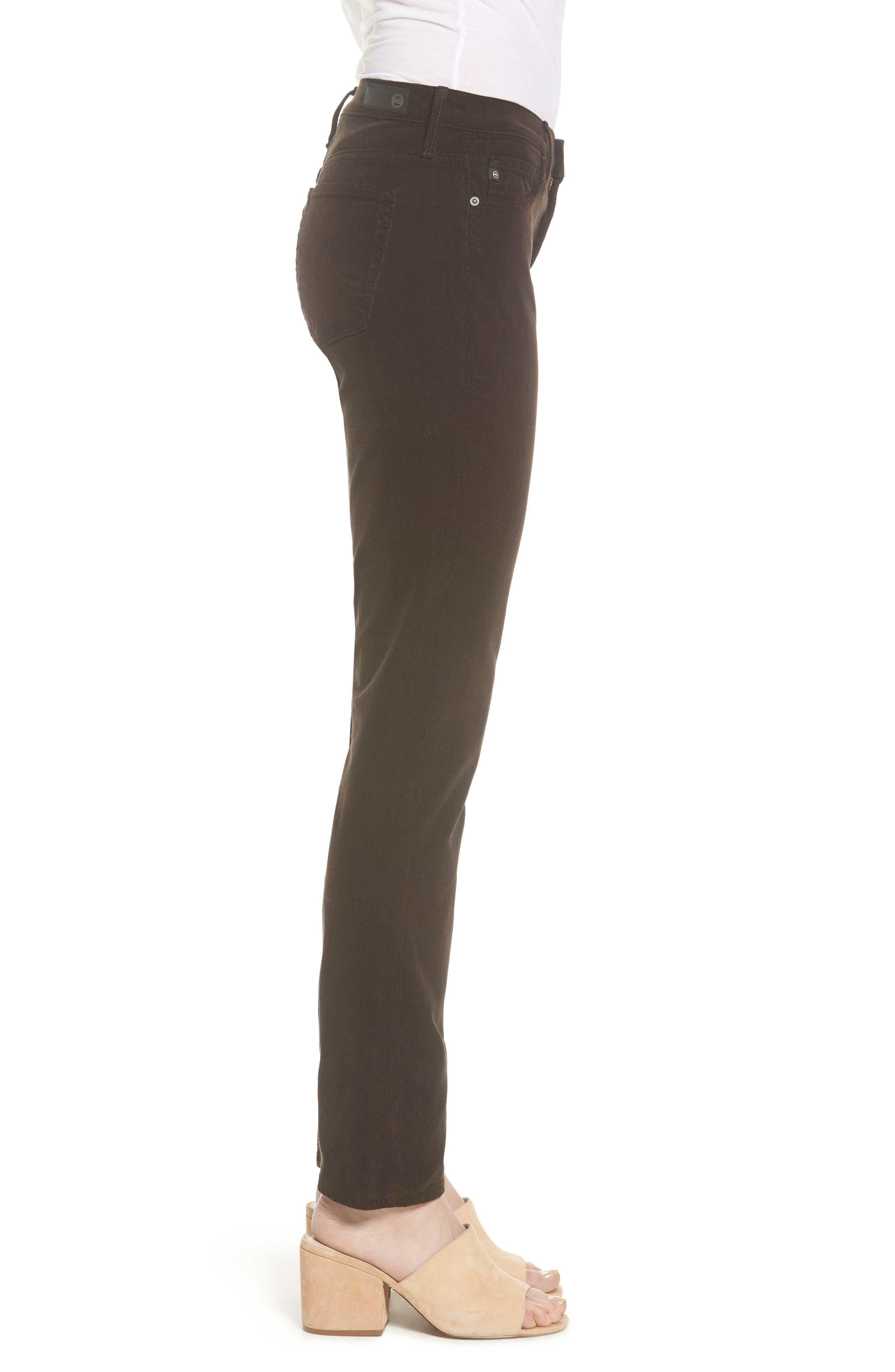 Alternate Image 3  - AG 'Prima' Corduroy Skinny Pants