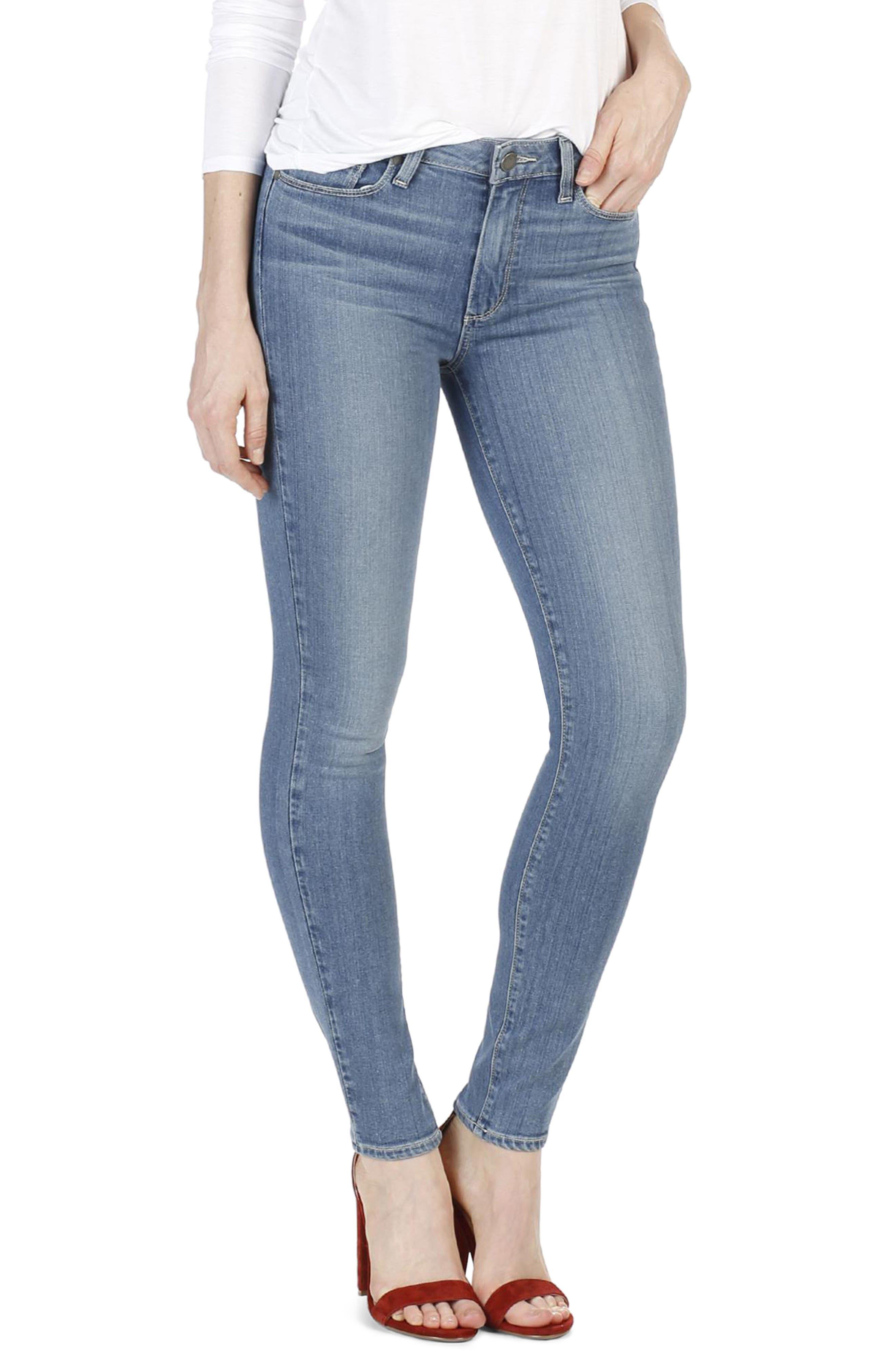 Alternate Image 3  - PAIGE Transcend - Hoxton High Waist Ultra Skinny Jeans (Cayucos)