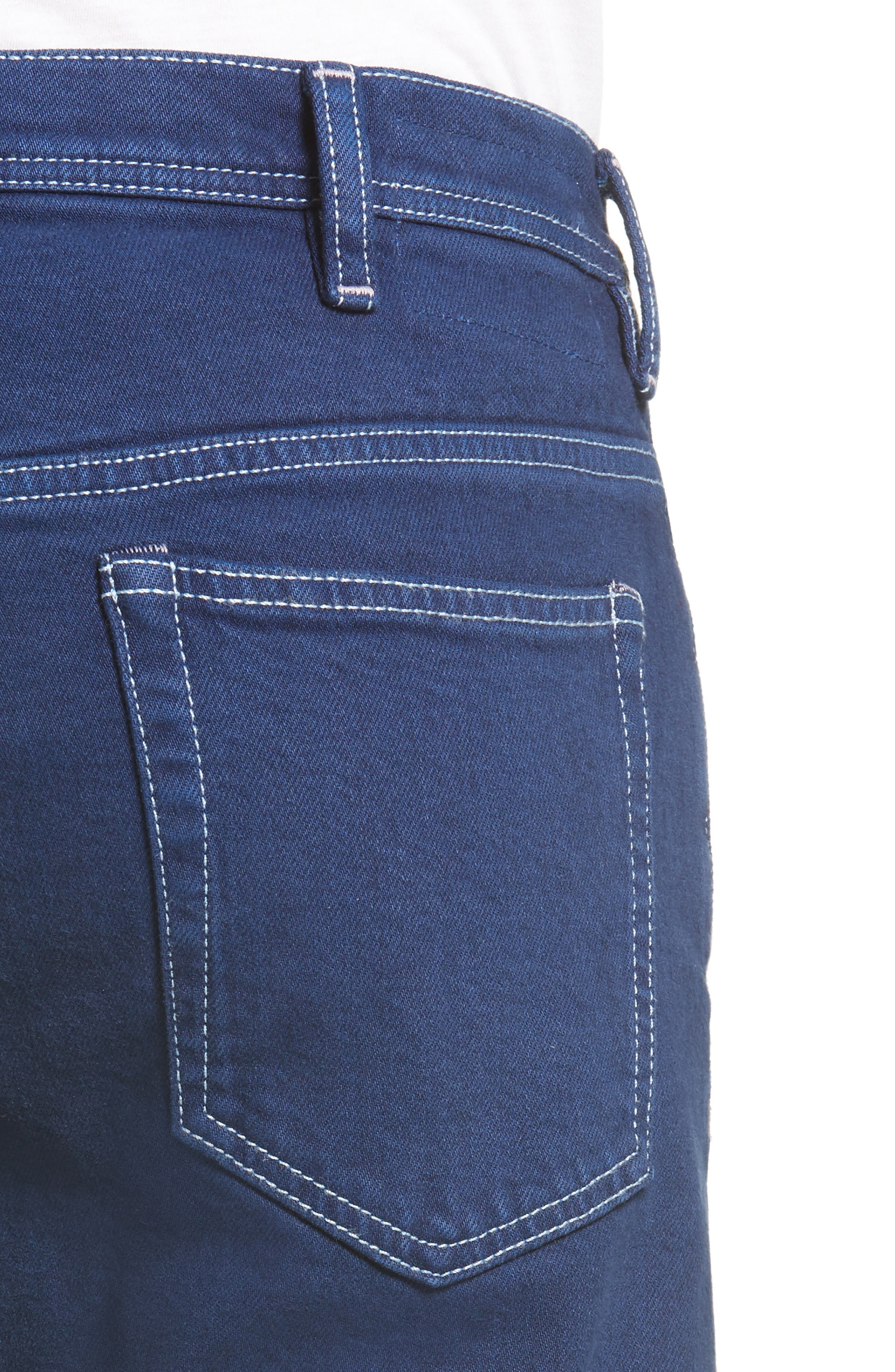 Alternate Image 4  - ACNE Studios River Slim Tapered Fit Jeans (Cobalt)