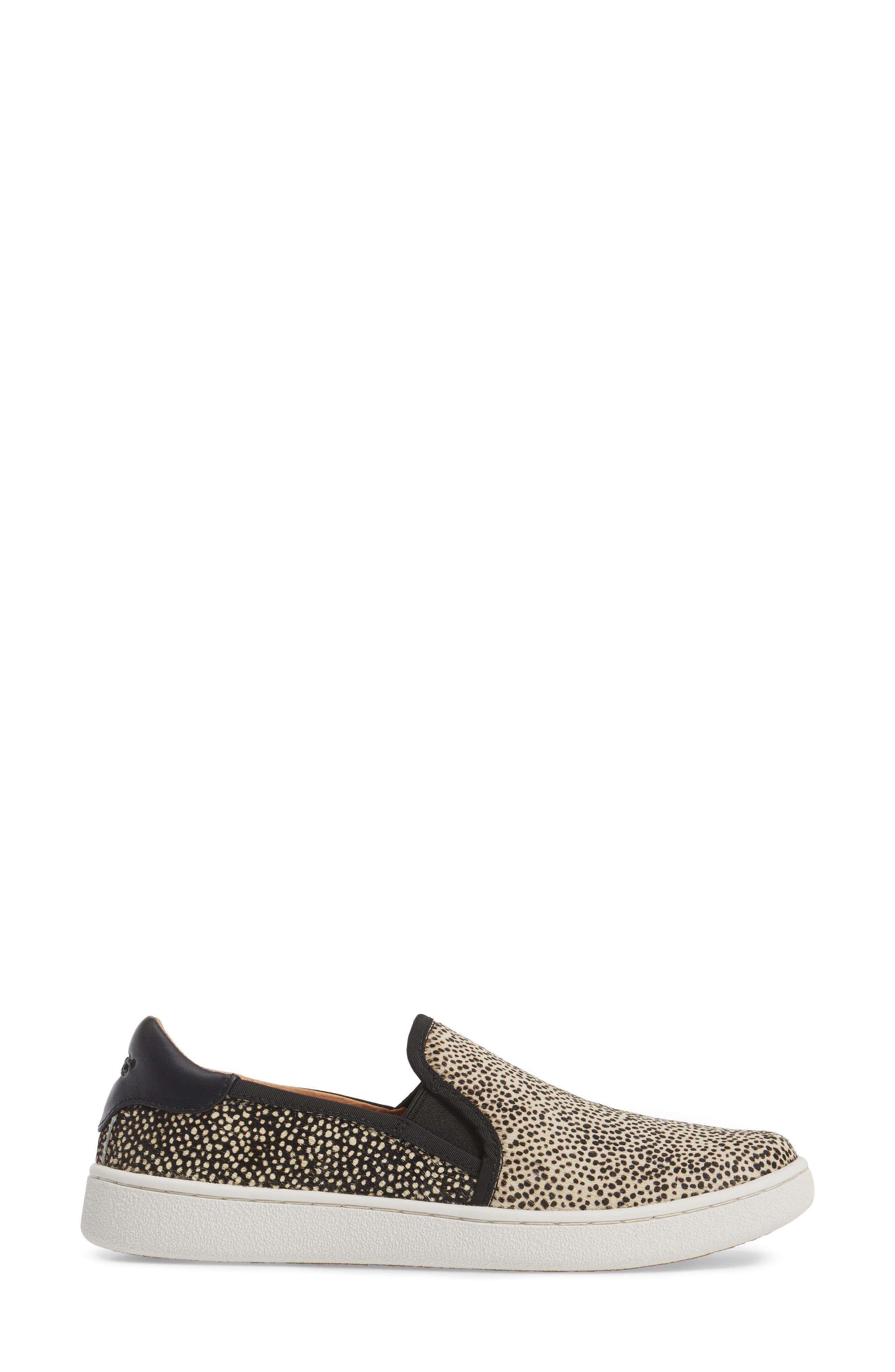 Alternate Image 3  - UGG® Cas Exotic Genuine Calf Hair Slip-On Sneaker (Women)
