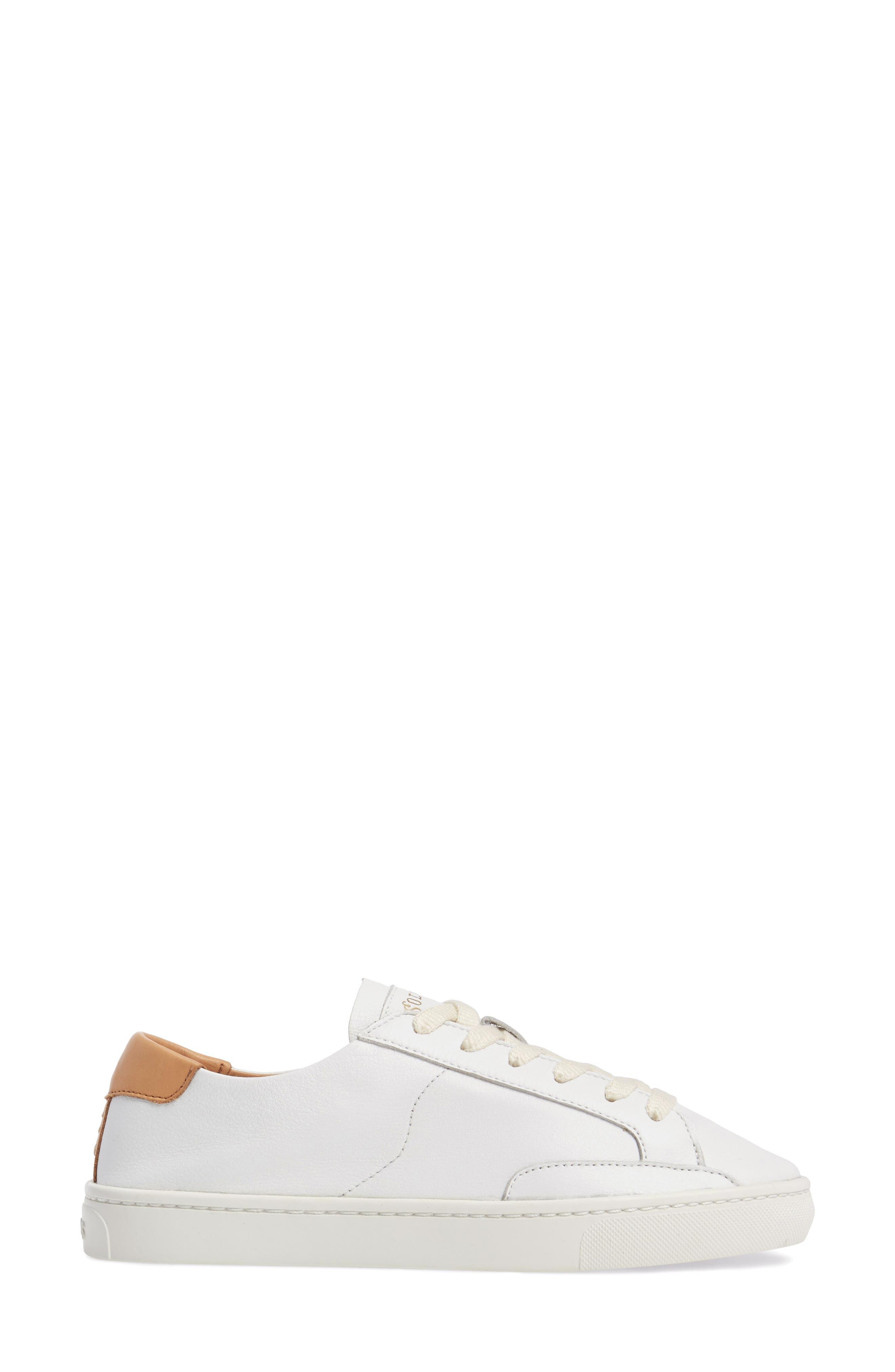 Ibiza Sneaker,                             Alternate thumbnail 3, color,                             White