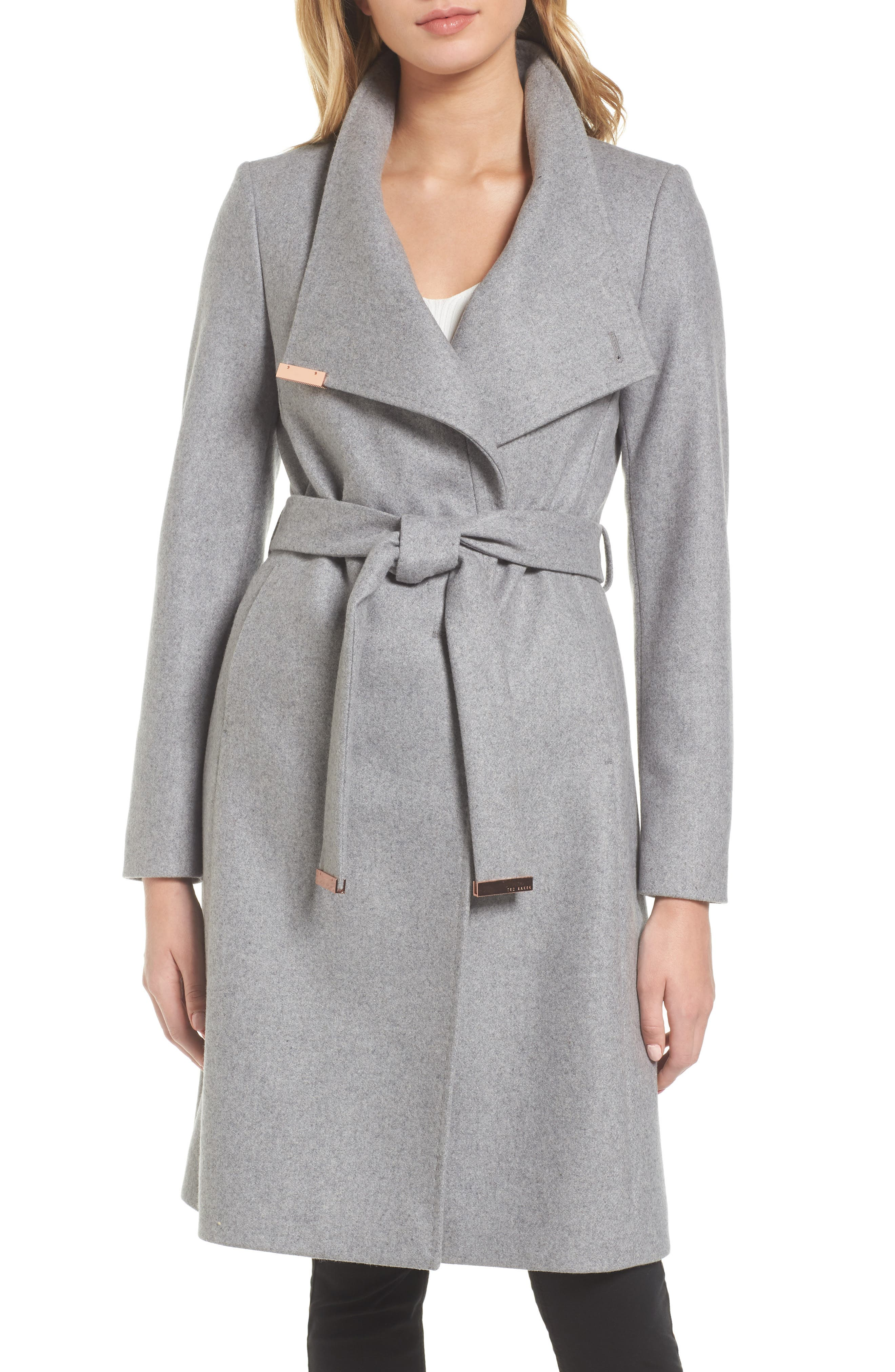 Women's Grey Wool Coats | Nordstrom | Nordstrom