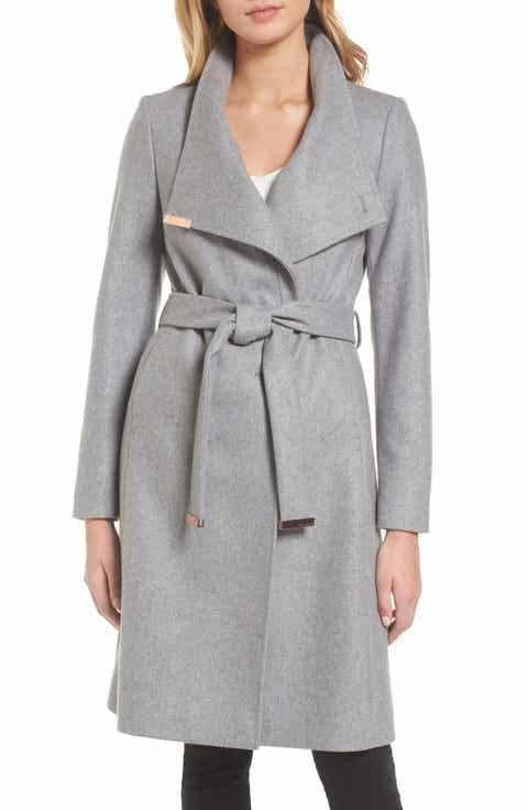 Women's Grey Wool Coats | Nordstrom | Nordstrom
