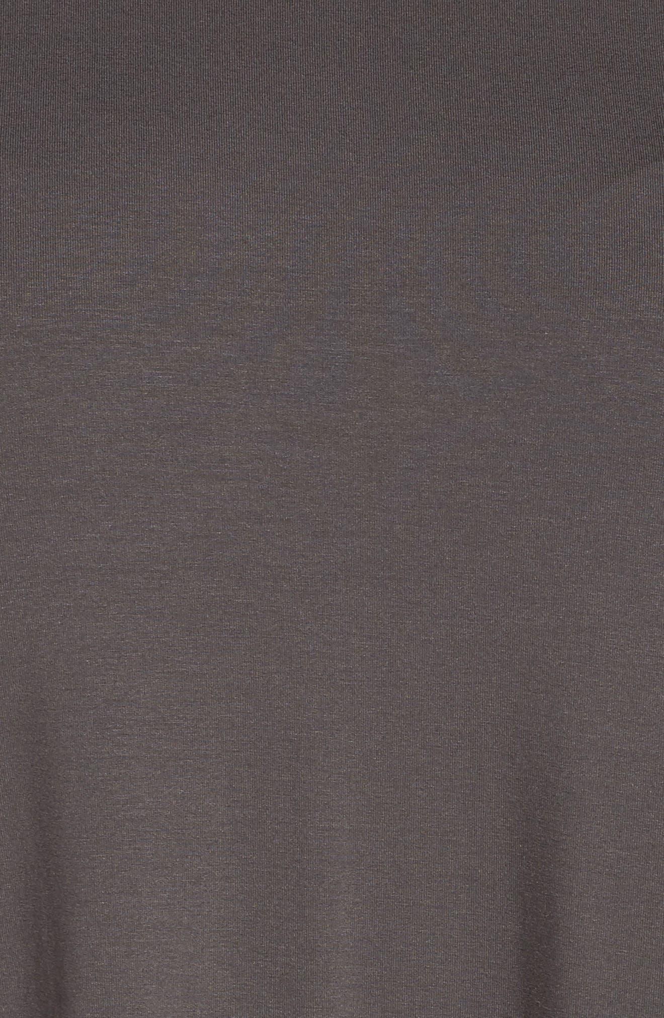 Alternate Image 5  - Eileen Fisher Jersey Shift Dress (Plus Size)